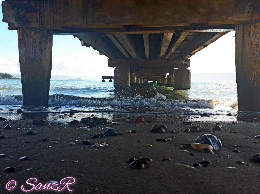 Under the wharf by sanz r