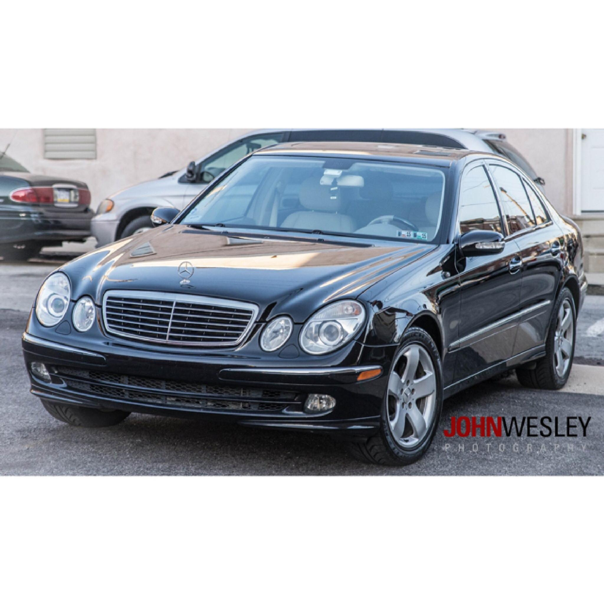 Mercedes Benz E350 by John Wesley Photography