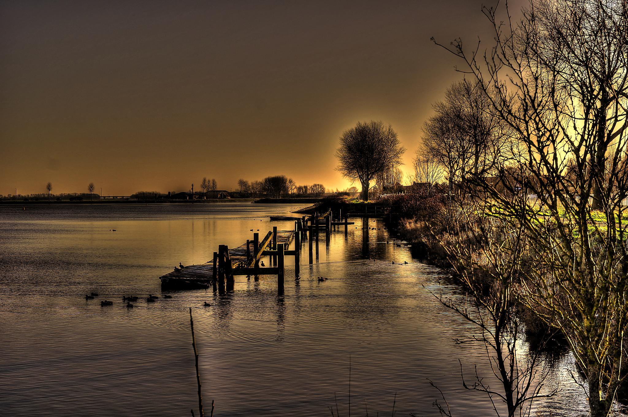 by the riverside by jean