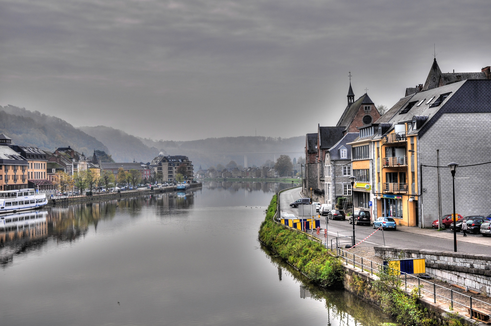 small town in the mist by jean