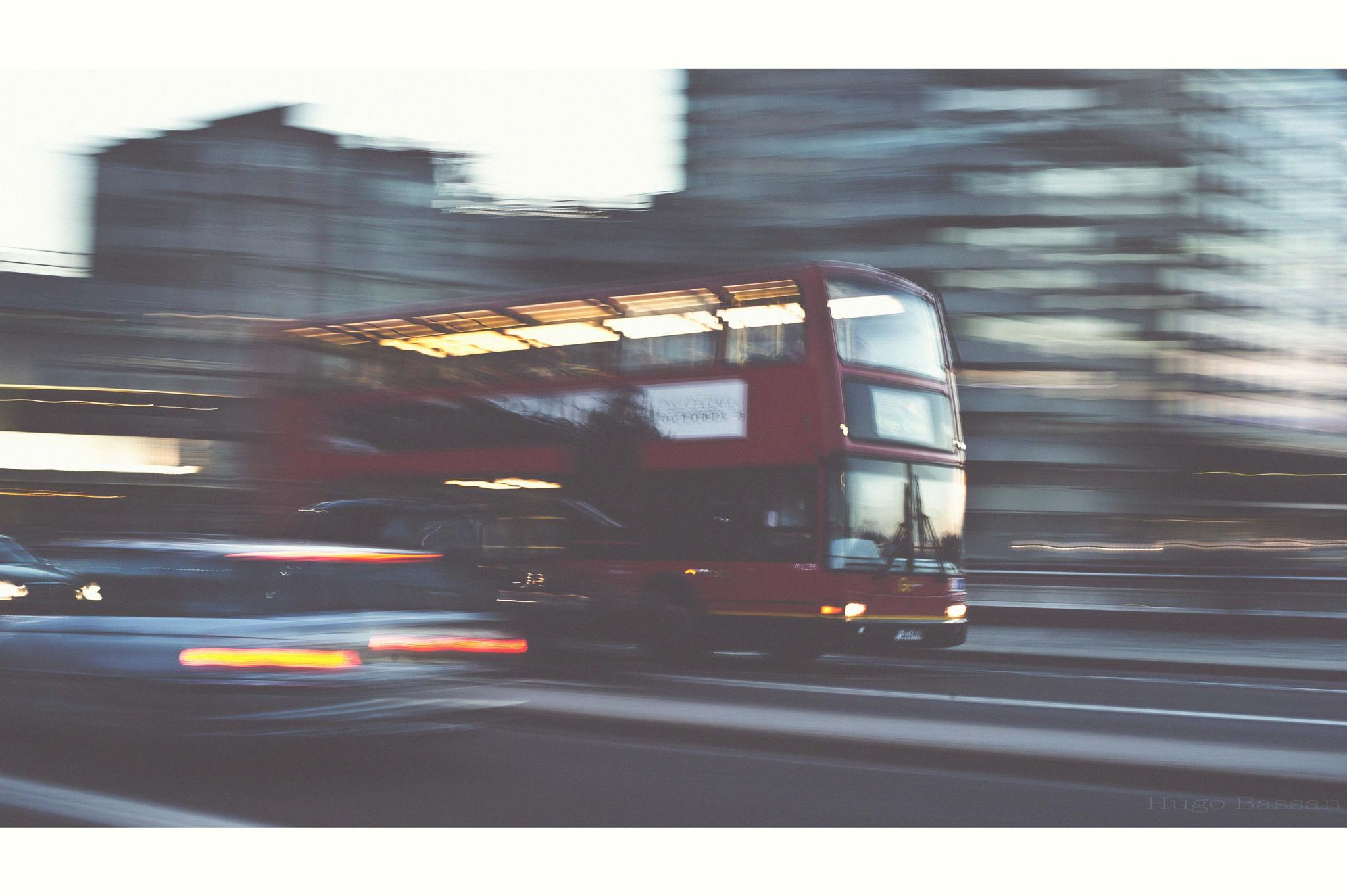 London Street by Hugo Bassan
