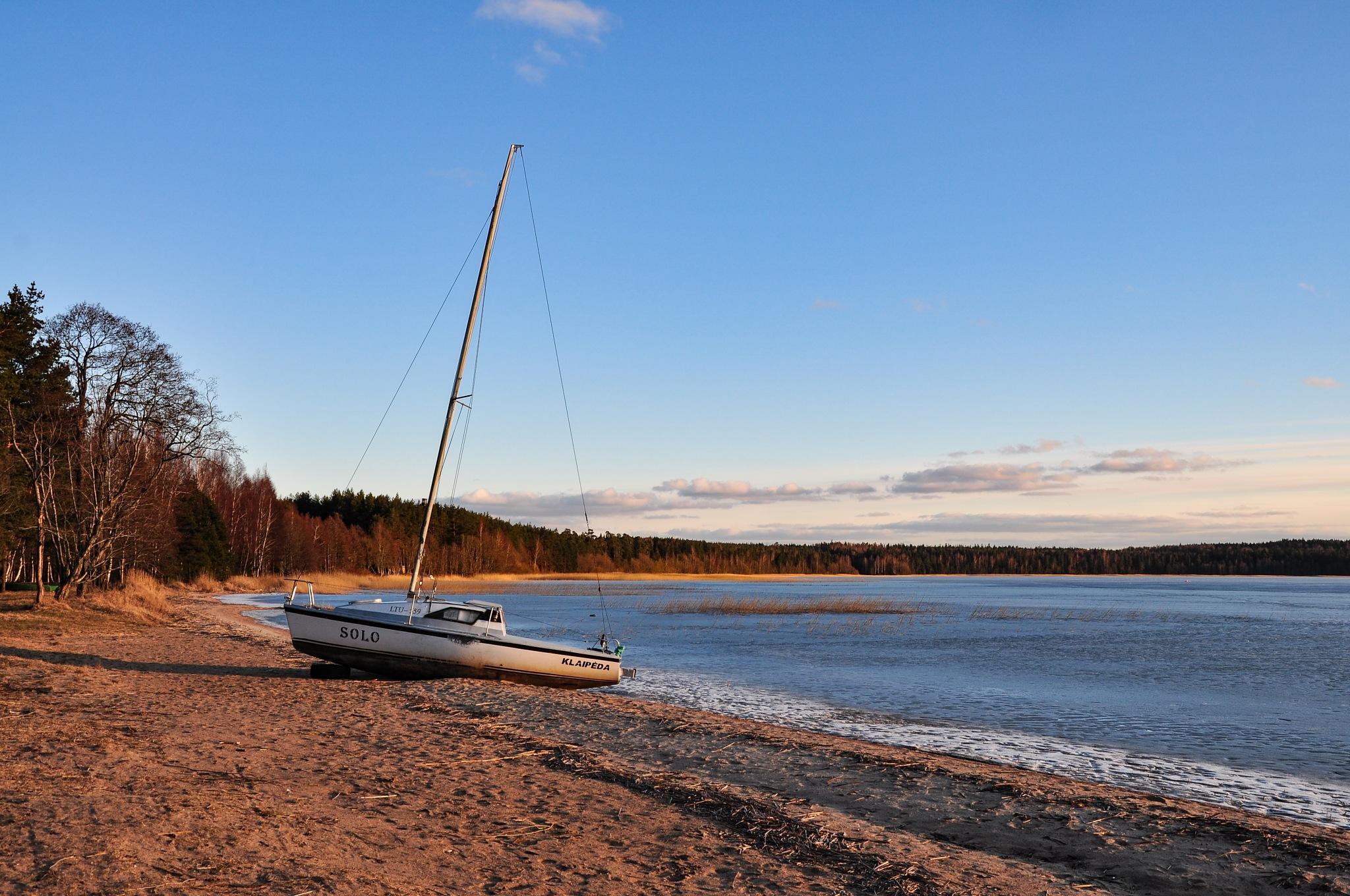 Boat by Irena Gedgaudiene