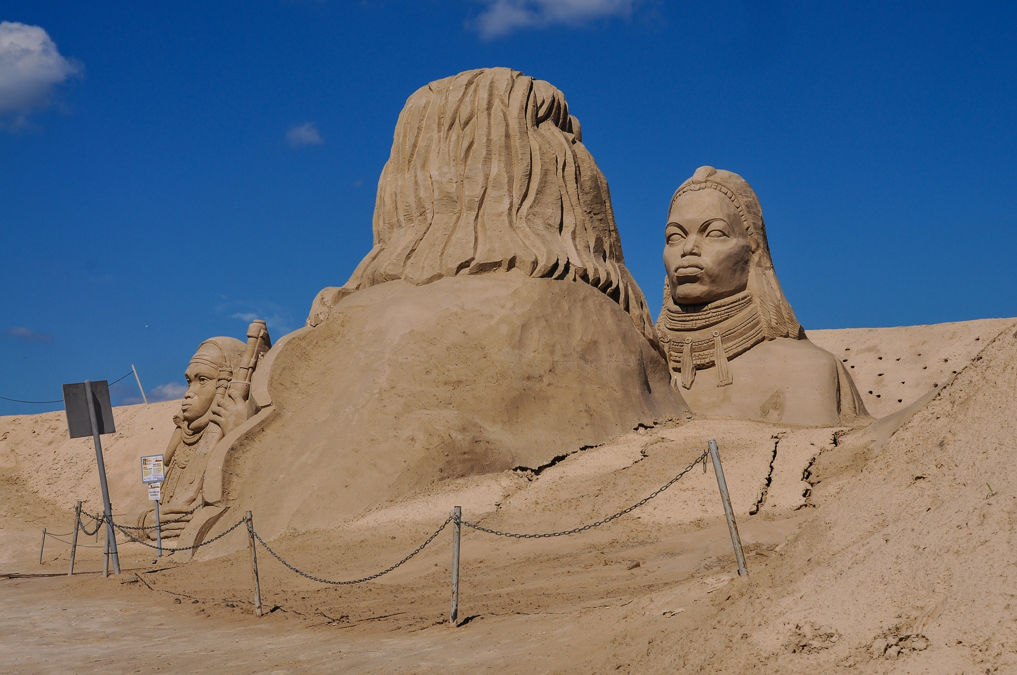 Sand sculptures by Irena Gedgaudiene