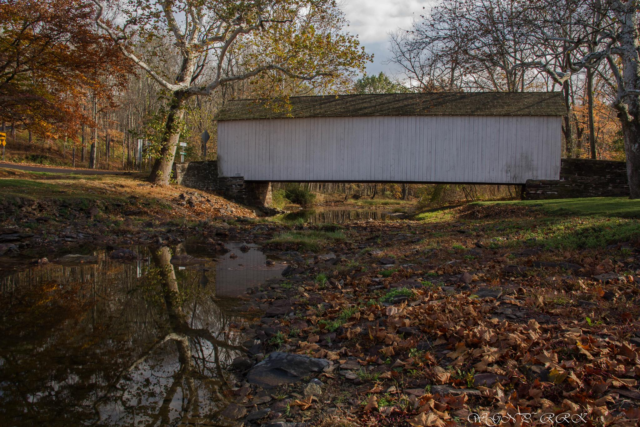 Loux Covered Bridge by Roland R Kemler