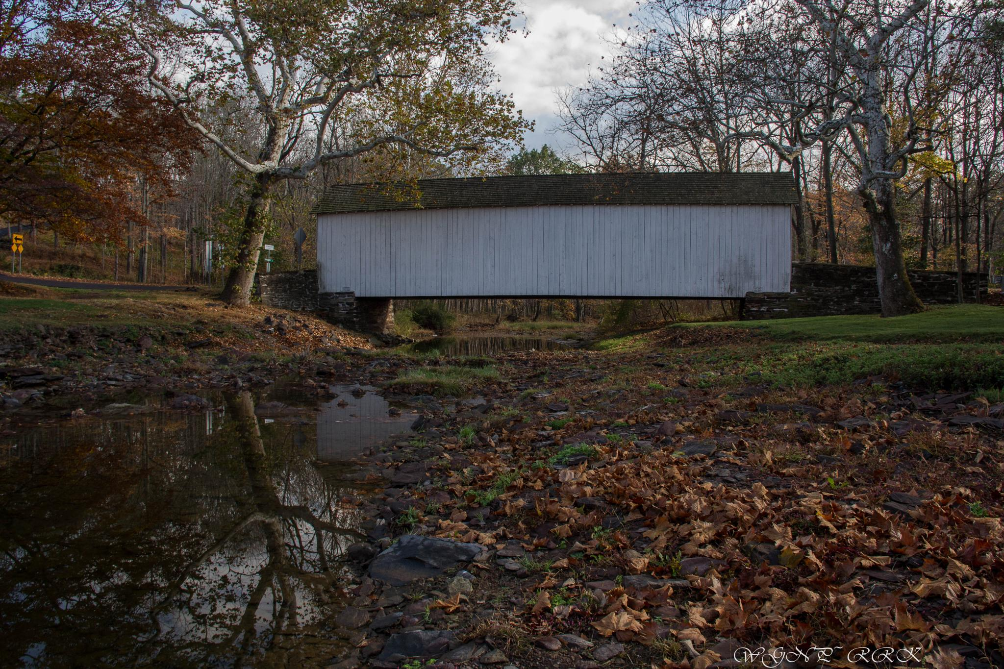The Loux Covered Bridge by Roland R Kemler