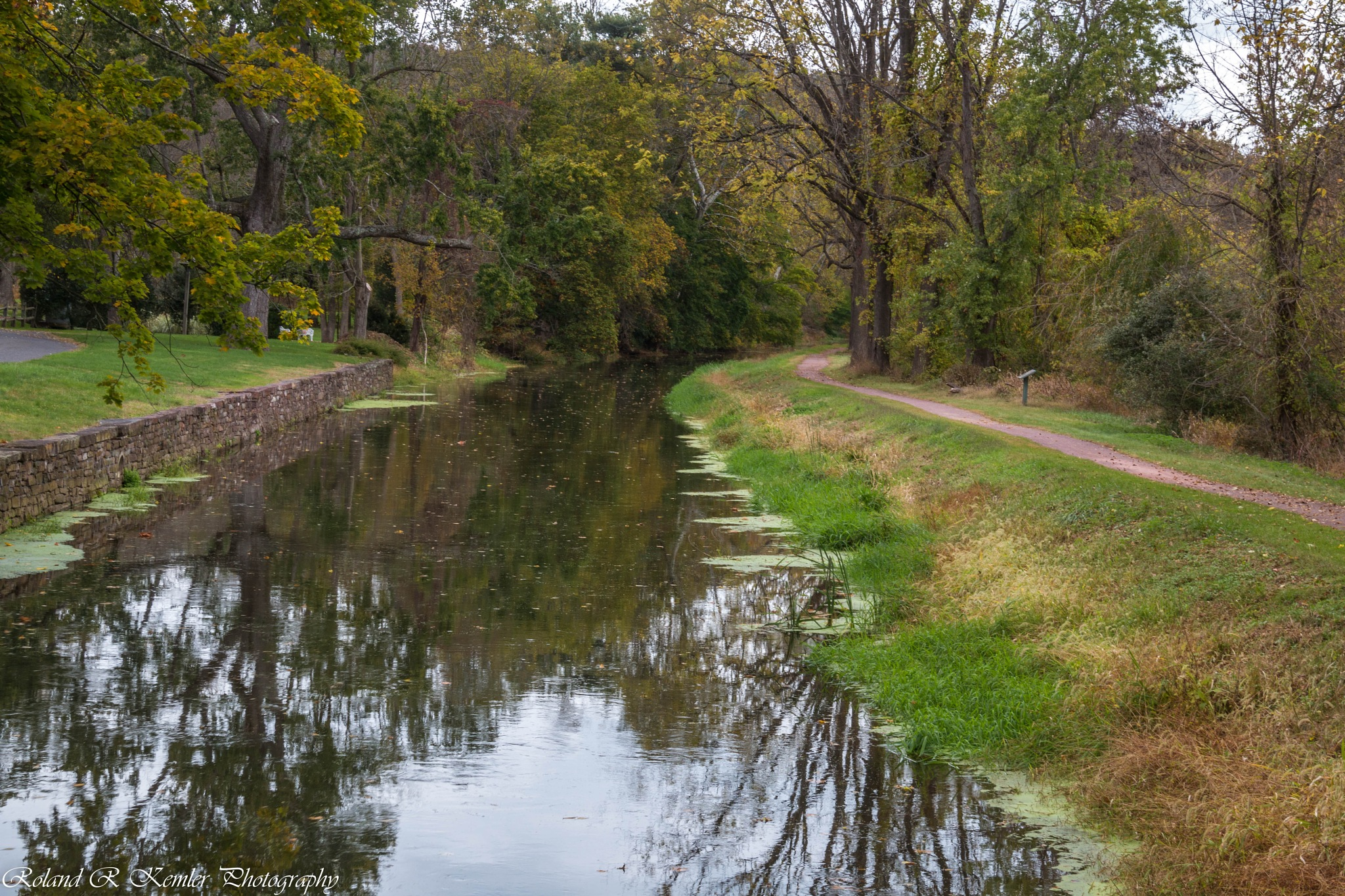 Delaware Canal by Roland R Kemler