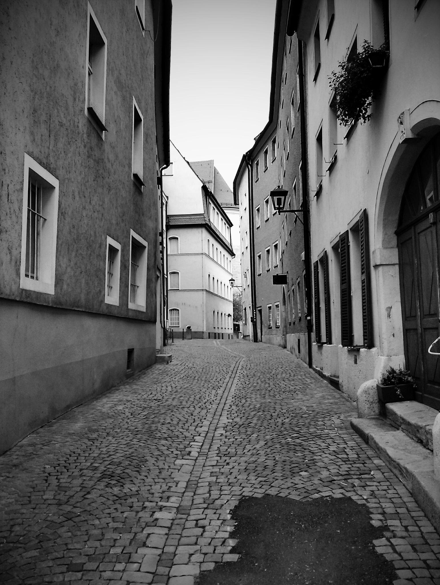 Old city street by gabi.striblea