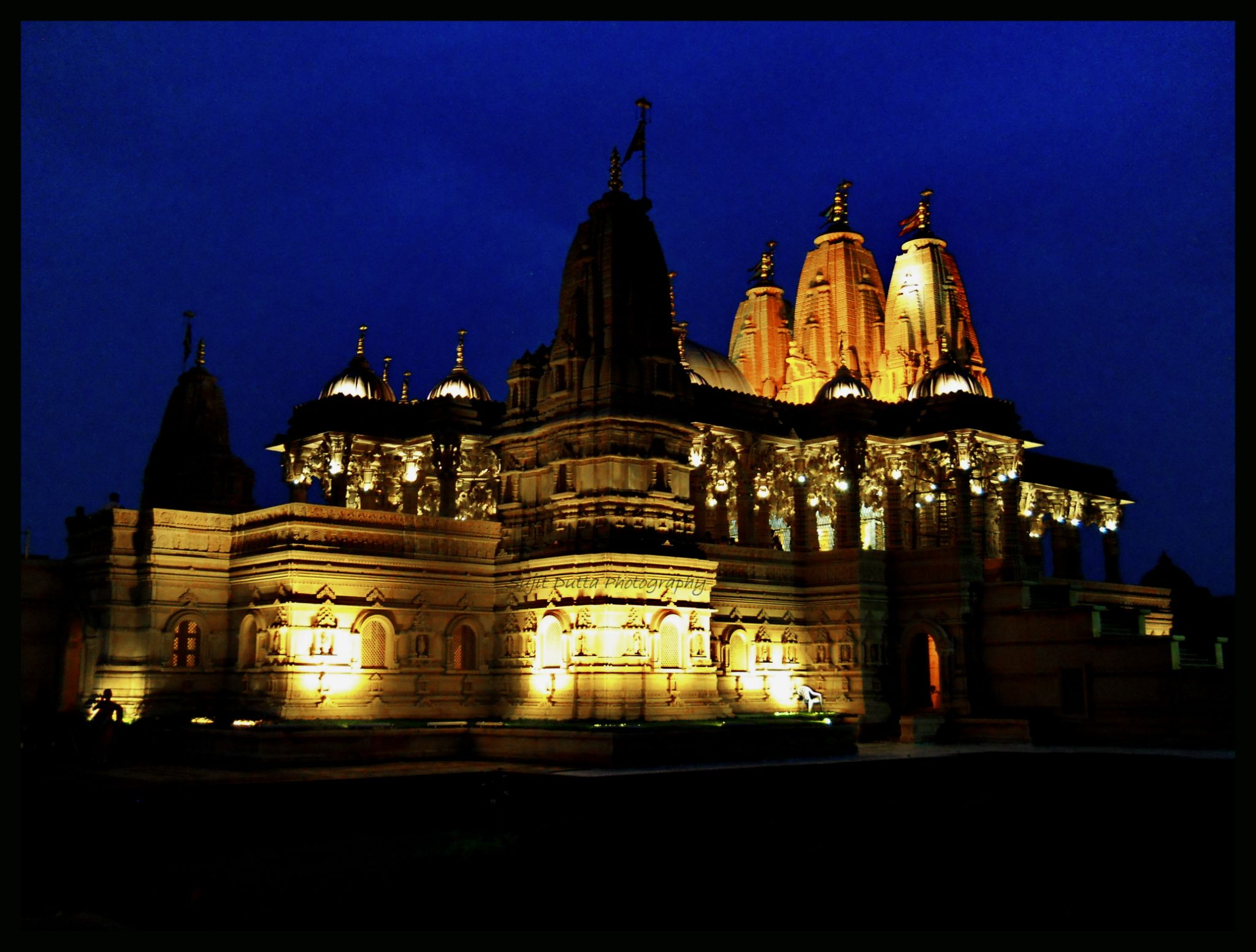 SWAMINARAYAN TEMPLE... WEST BENGAL. INDIA. by sujit.dutta