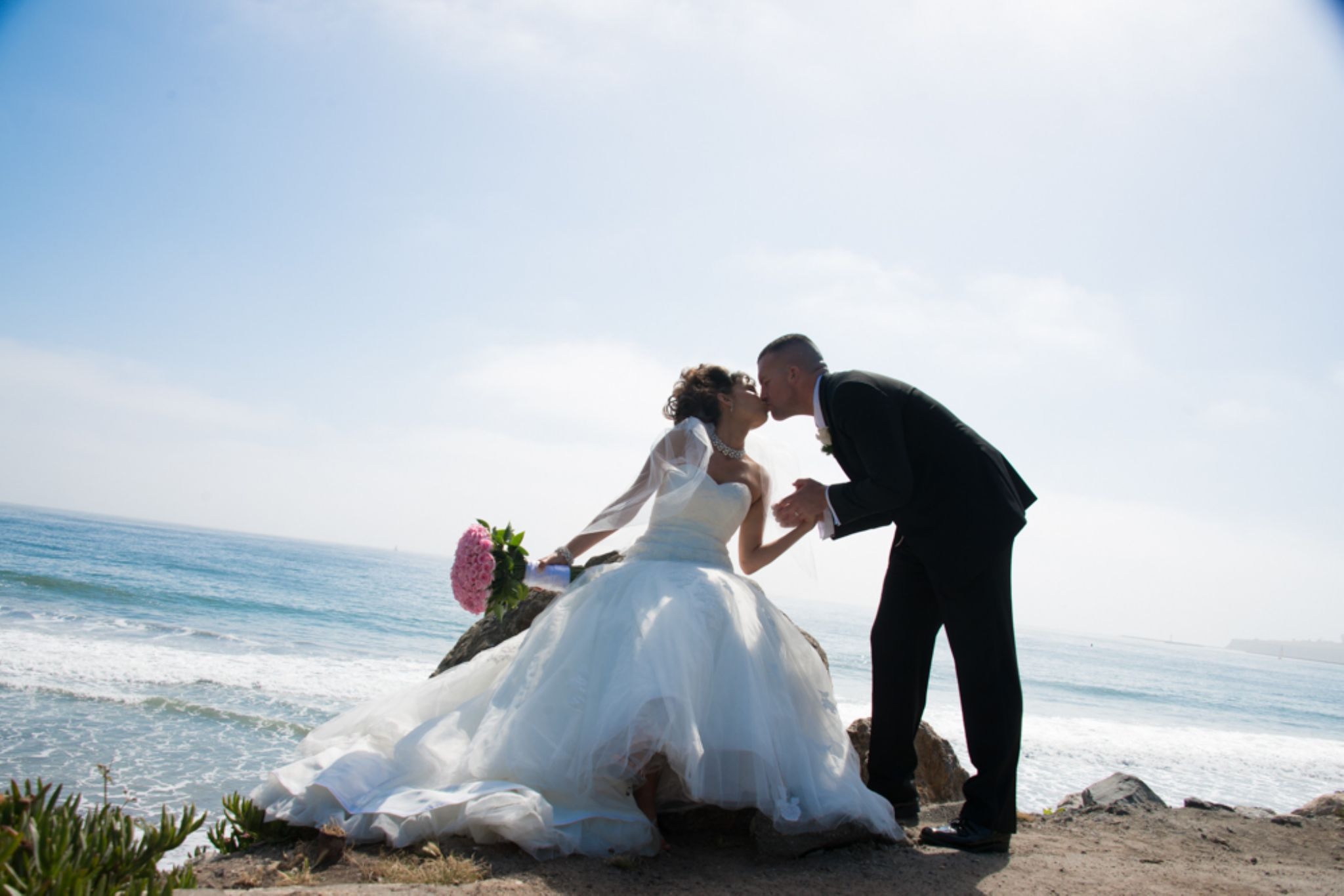 Love Captured-Kiss At The Beach by SweetJoJoPhotography