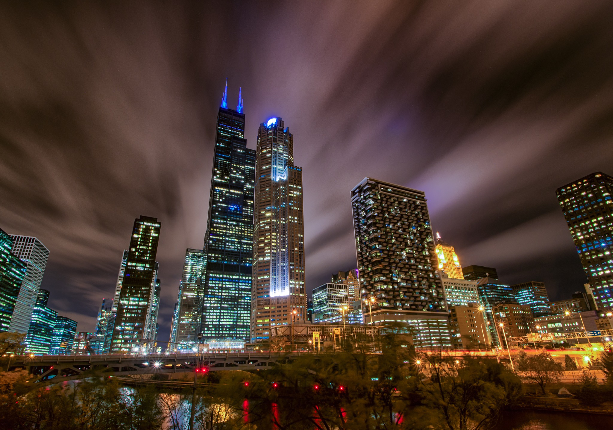 Chicago Blue by Raf Winterpacht