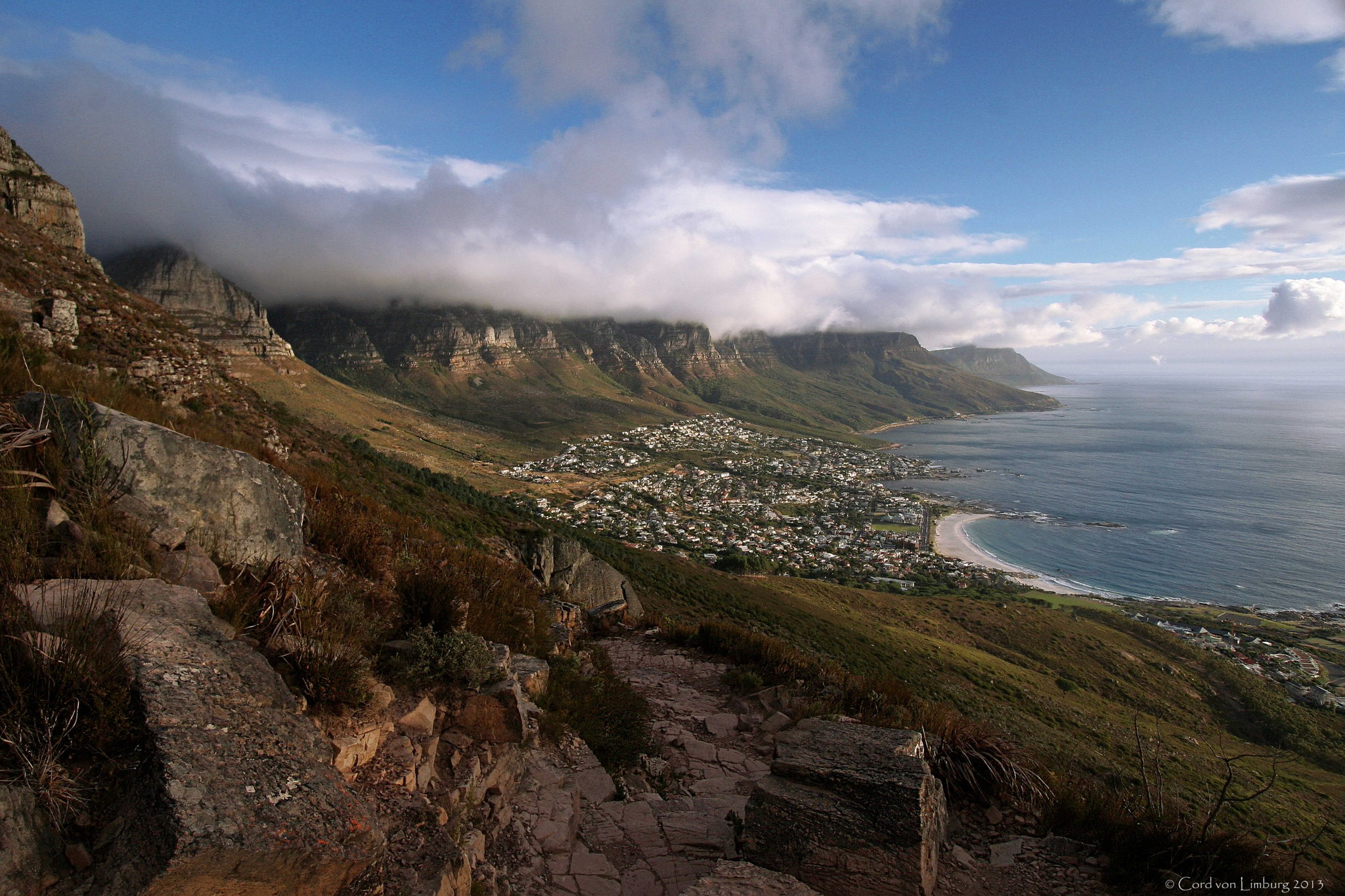 Twelve Apostle (backside of Table Mountain) by Cord von Limburg