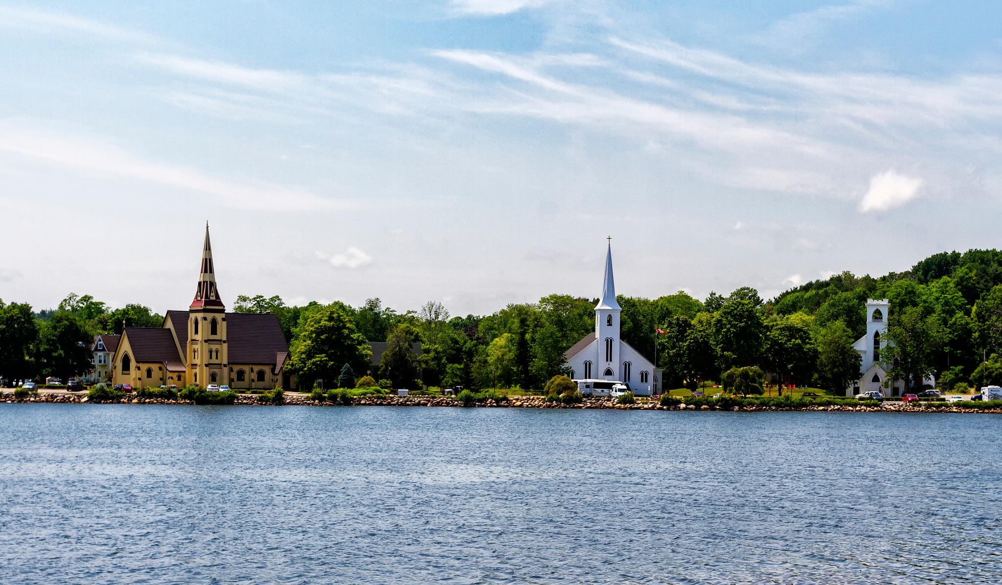 Three Churchs by Joe Chrvala