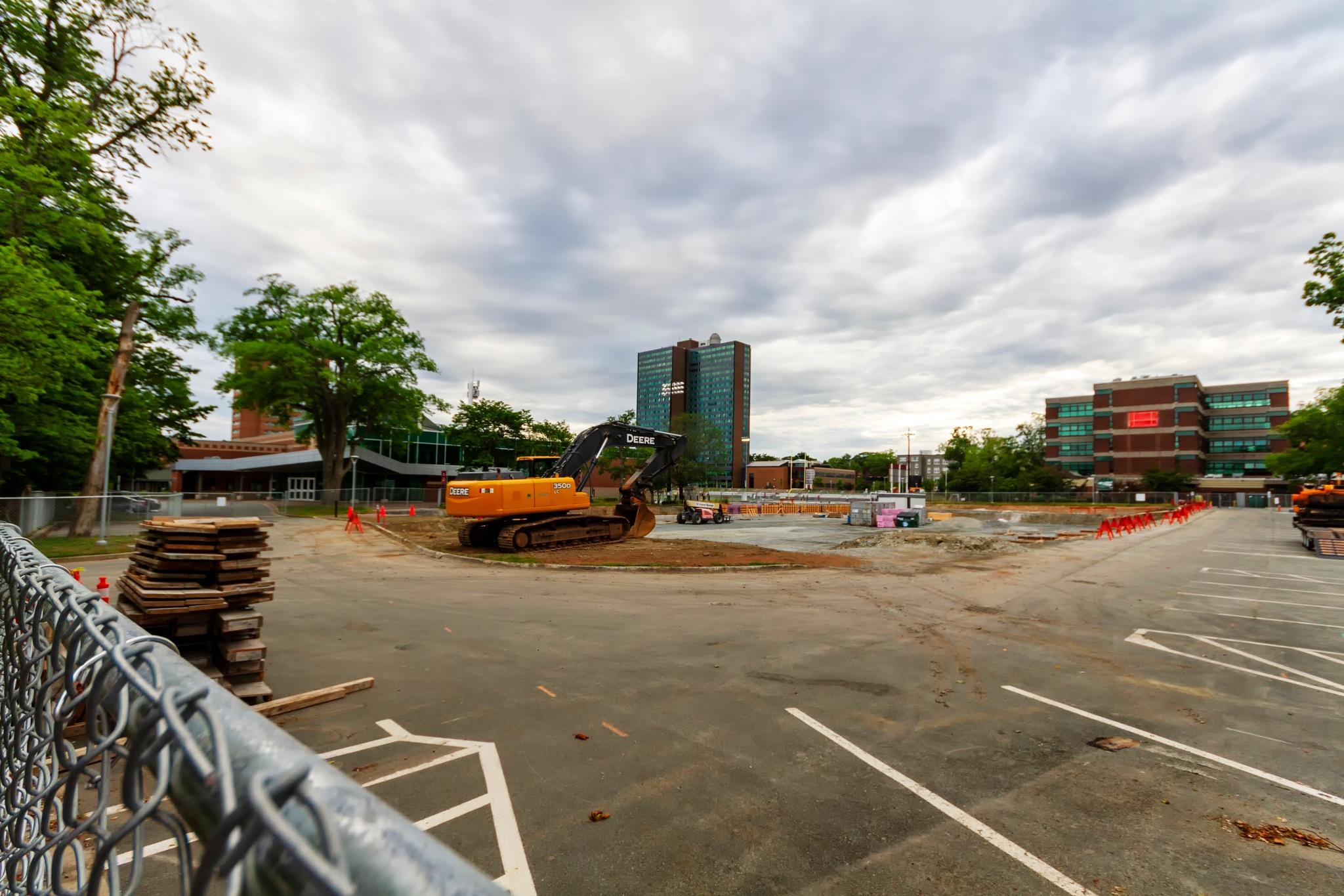 Arena Construction by Joe Chrvala