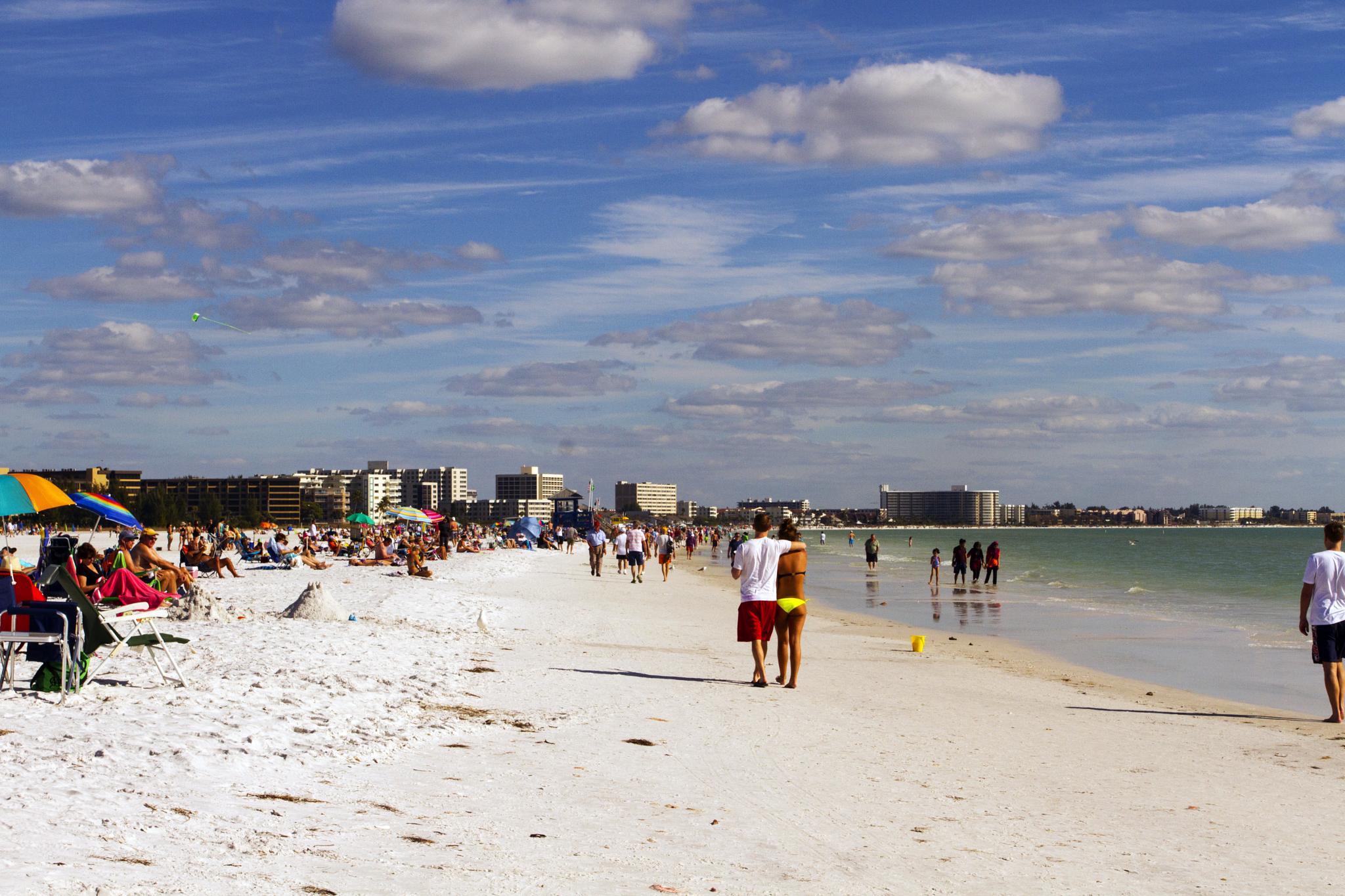 Beach Scenery by Joe Chrvala