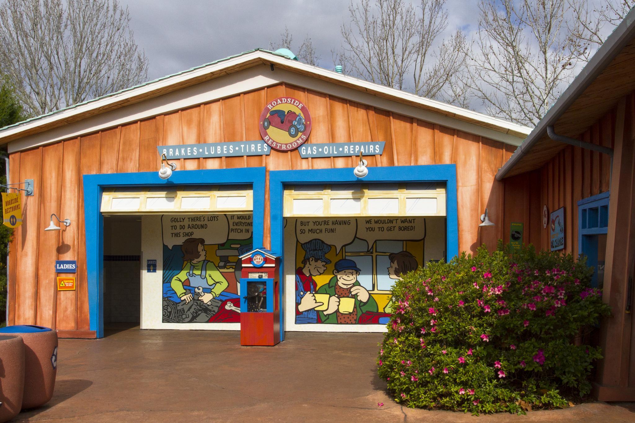 Garage Universal Orlando by Joe Chrvala