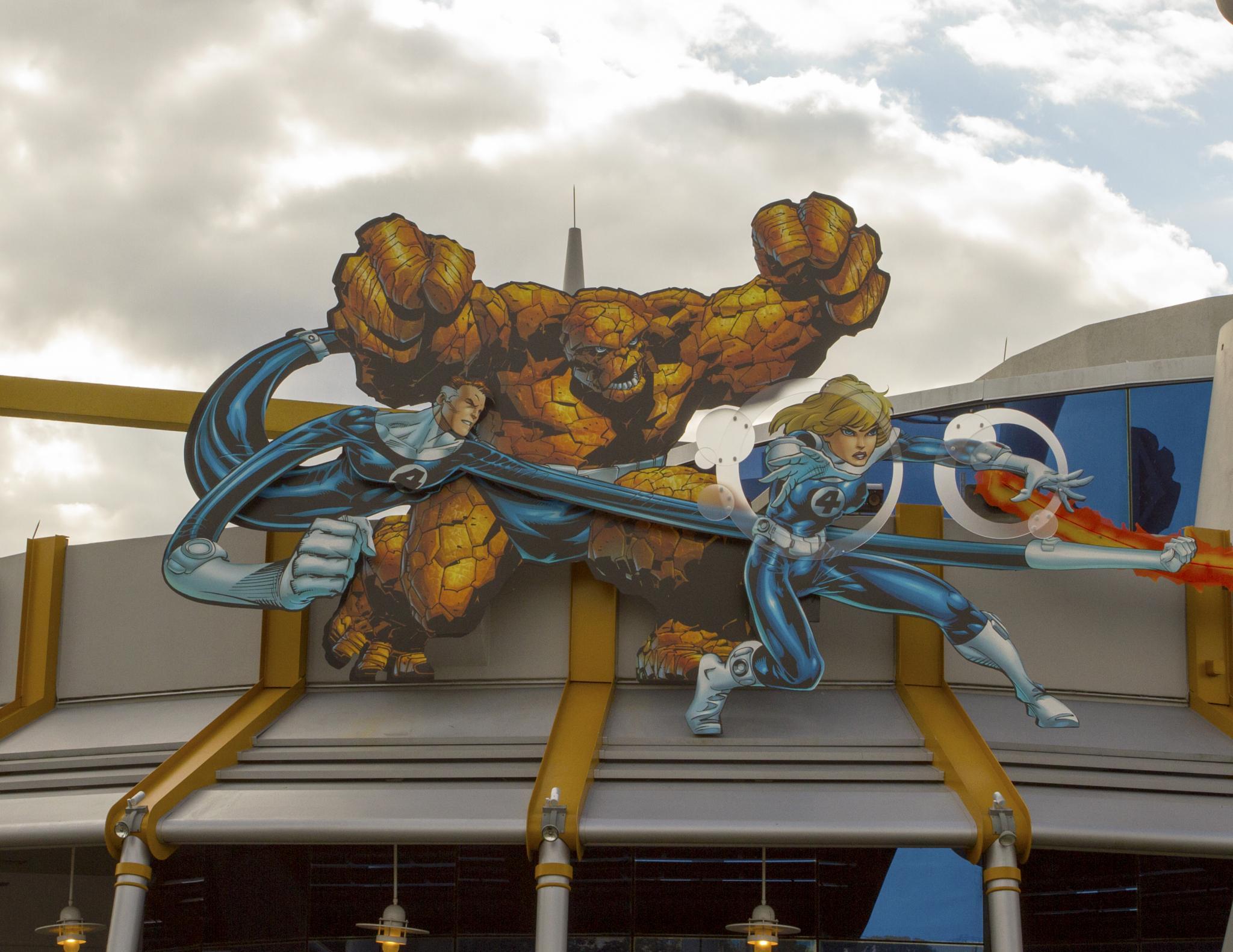 Fantastic 4  by Joe Chrvala