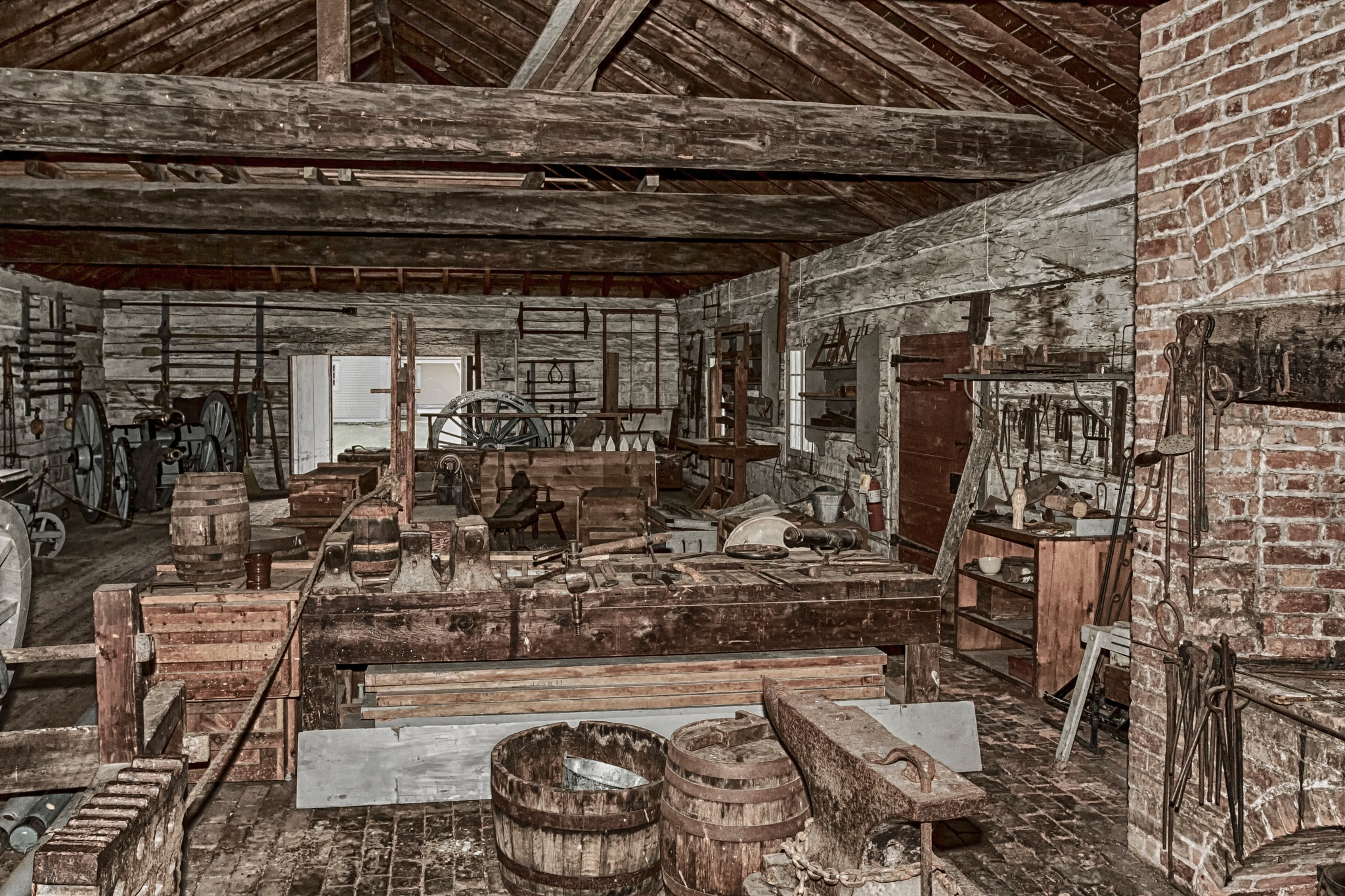 Blacksmith Shop by Joe Chrvala