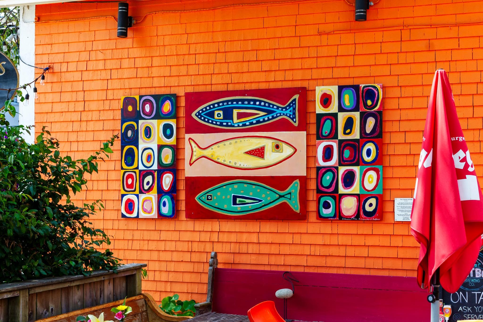 Mahone Bay Art by Joe Chrvala
