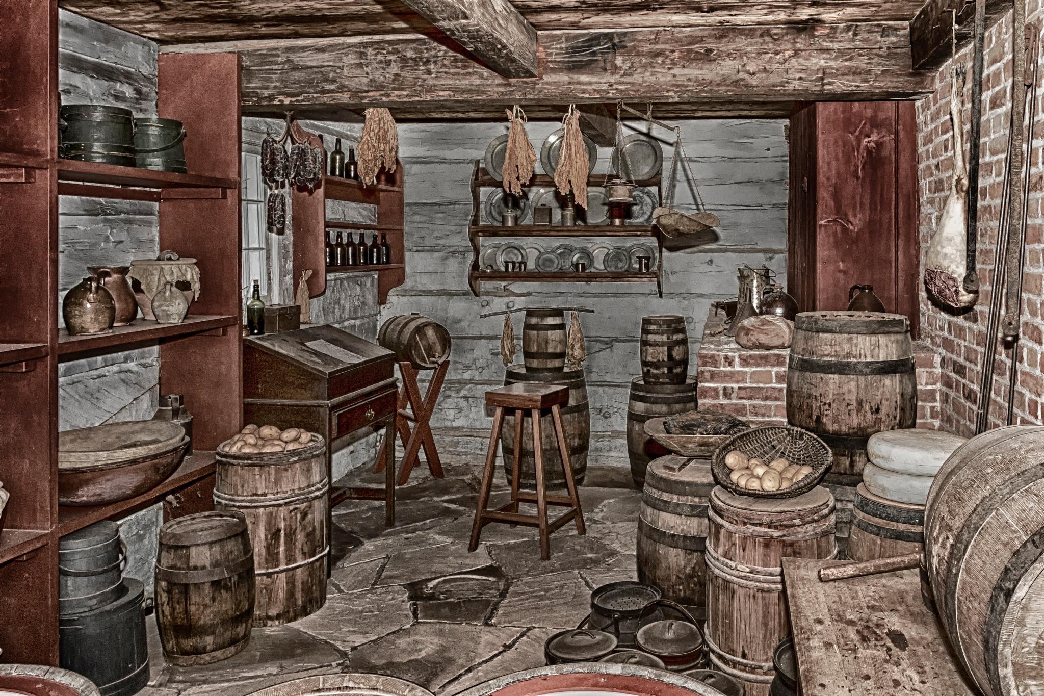 1812 Olde Kitchen  by Joe Chrvala