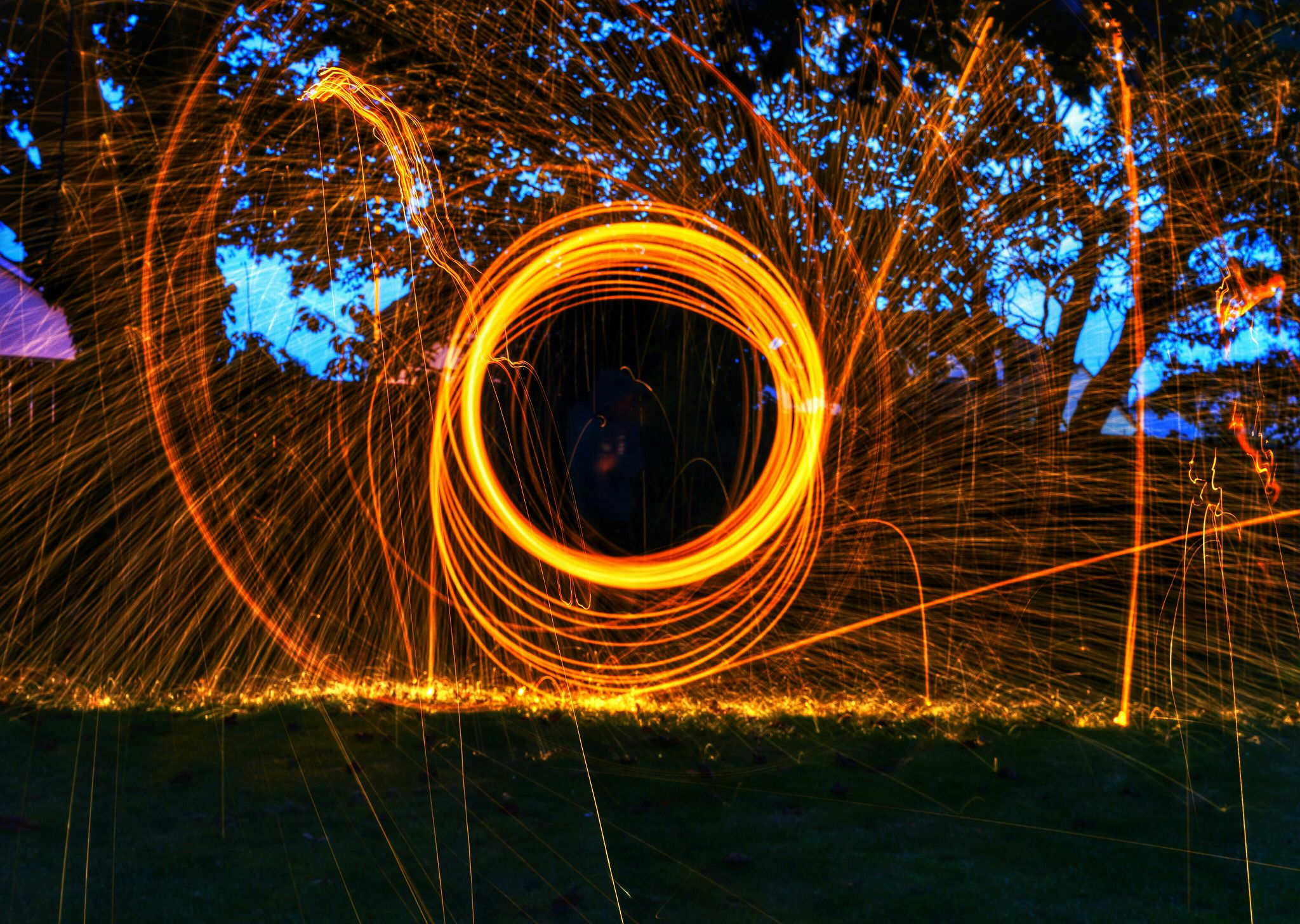 Hot circles by Patrick McMahon