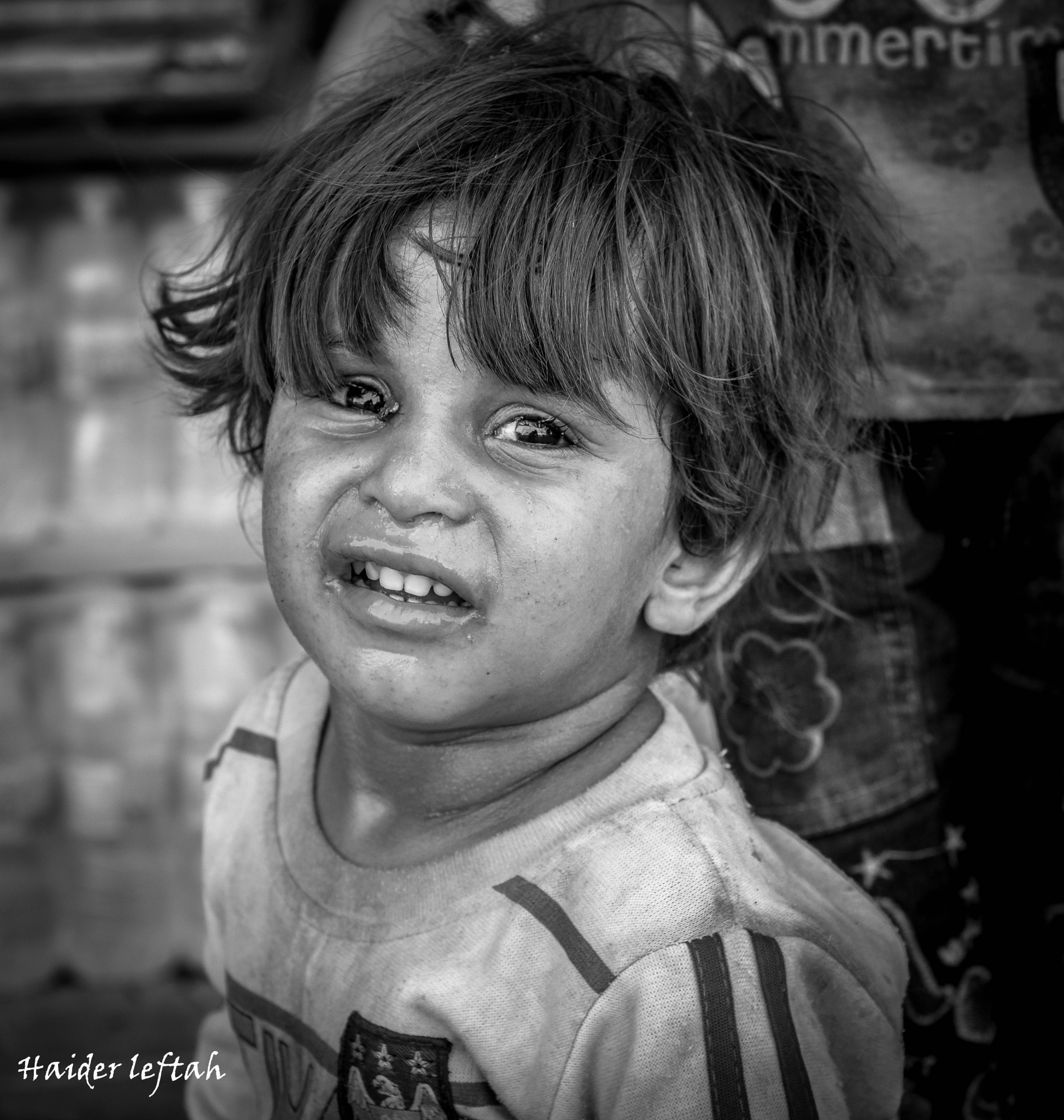 Child and misery because of Iraqi politicians and Islamist parties corrupt by hydralklaby