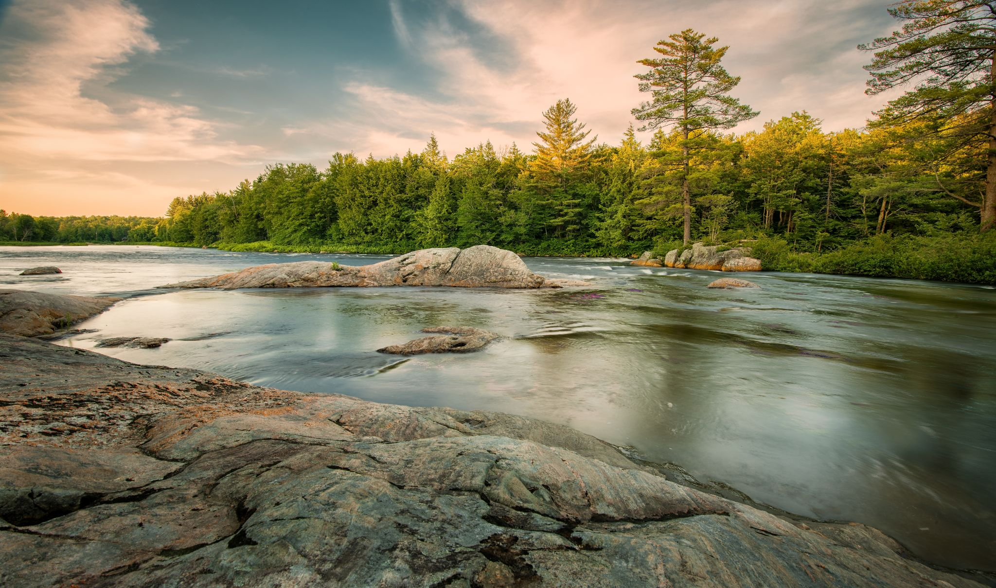 Twilight at Moose River by BrentMackey