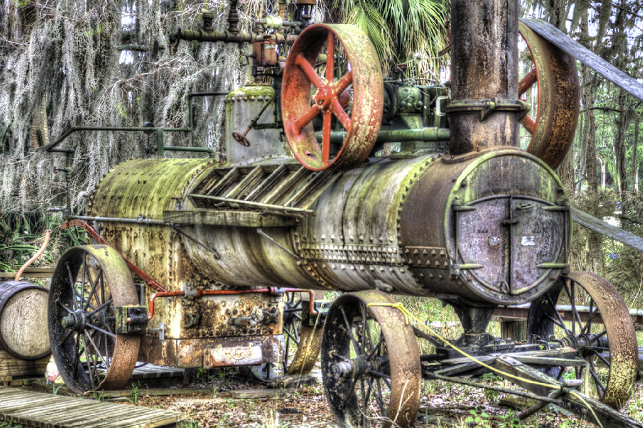 Steam Saw Mill by clyderscent