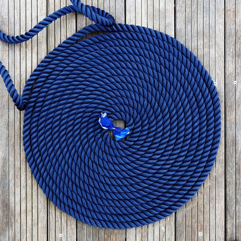 cordage bleu by leotempo