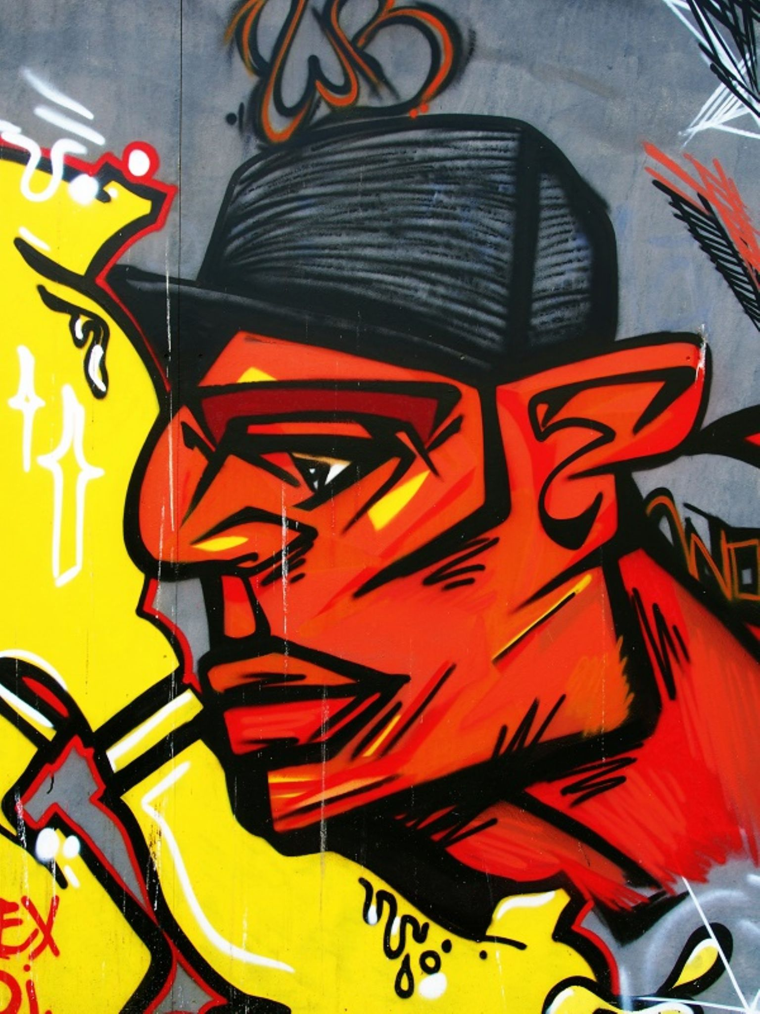 L'homme au chapeau by leotempo