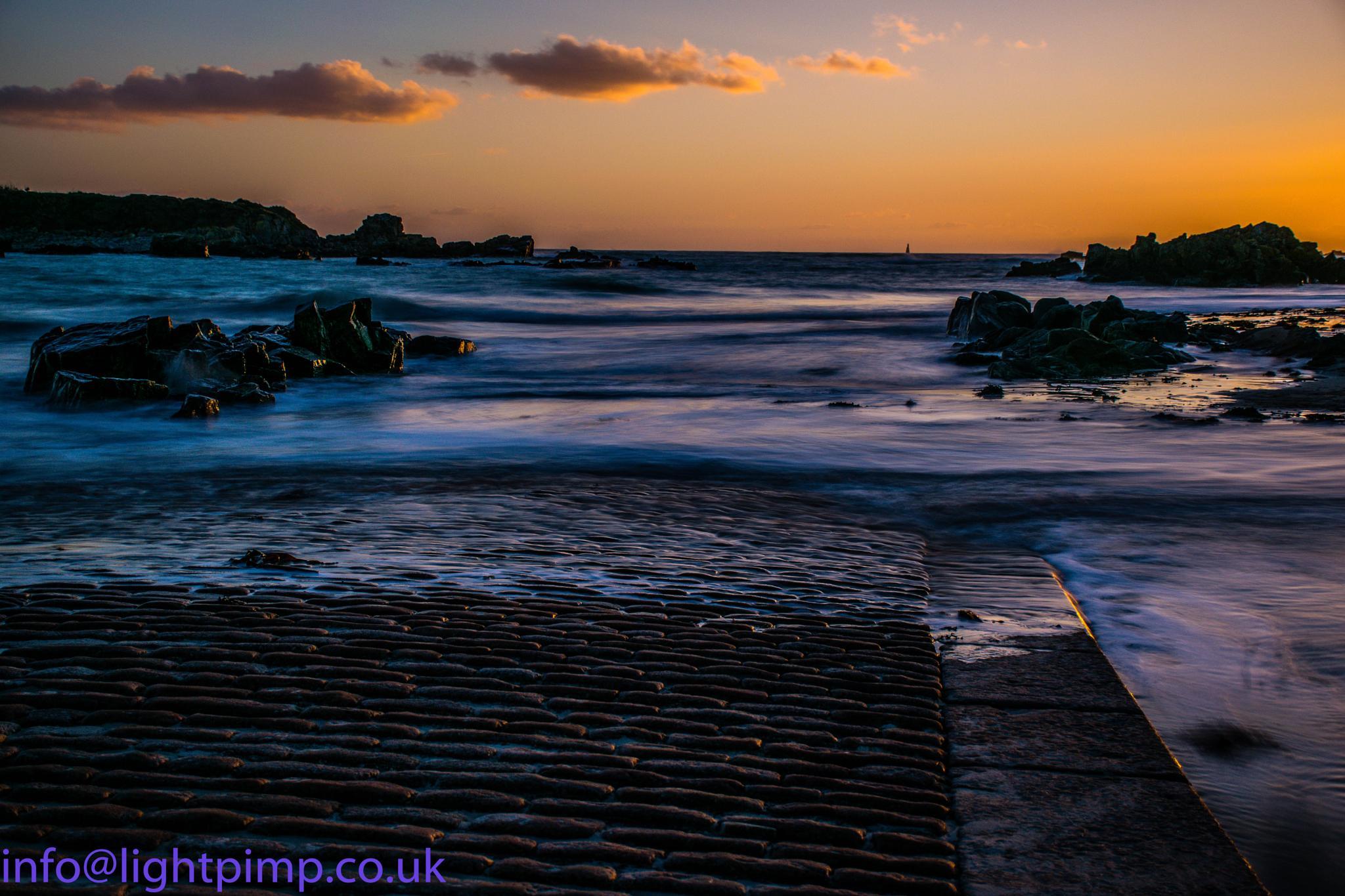 Green Island Sunset by Lightpimp - akadodjer