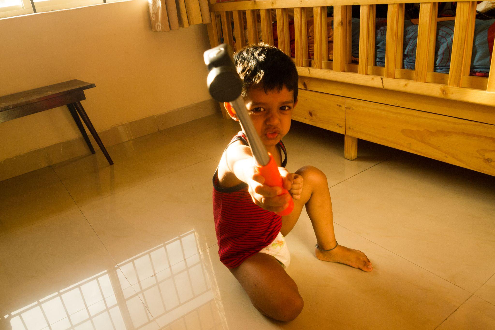 Ready to fight.. by prashanth r