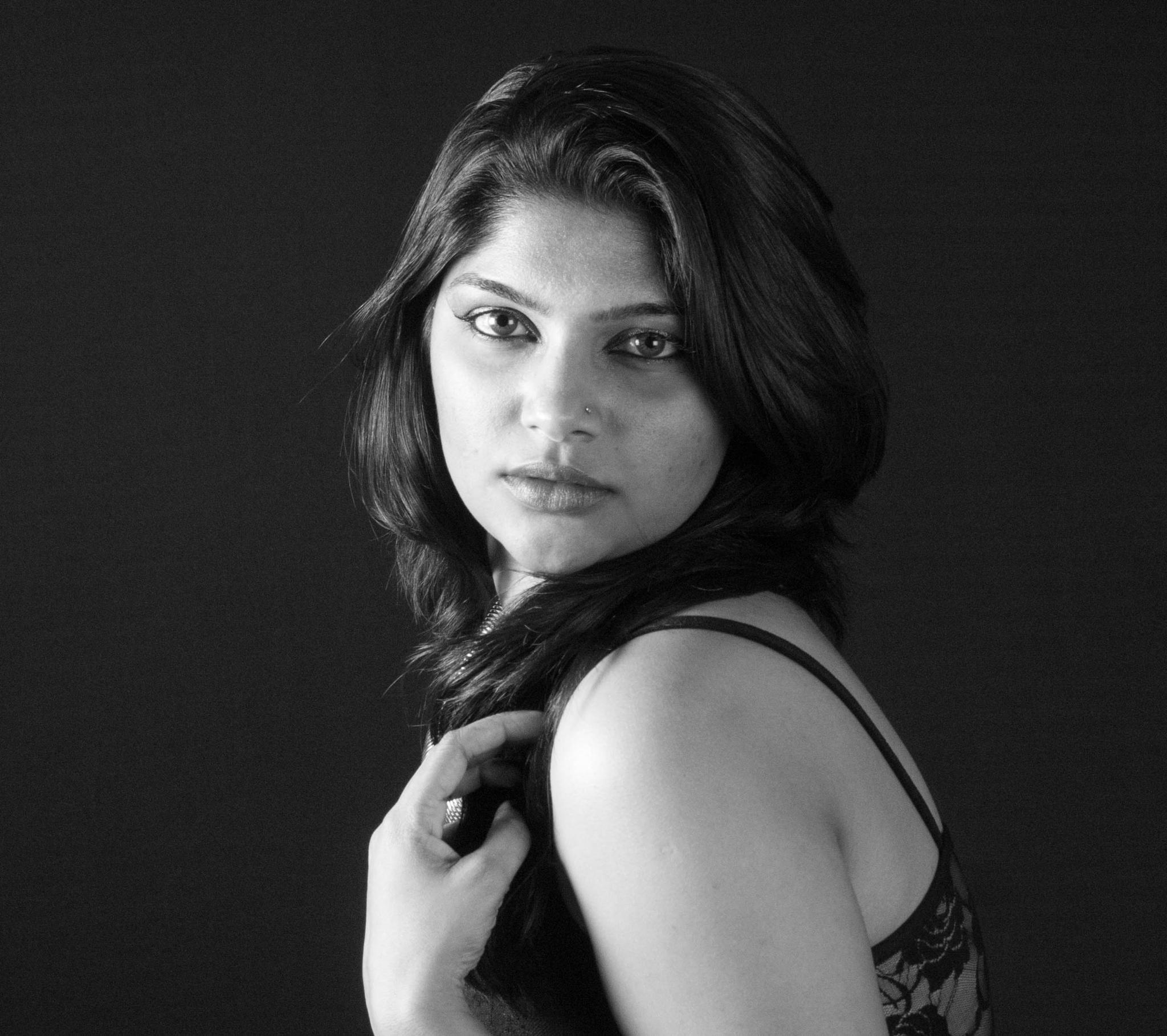 Beauty in Black and White by prashanth r