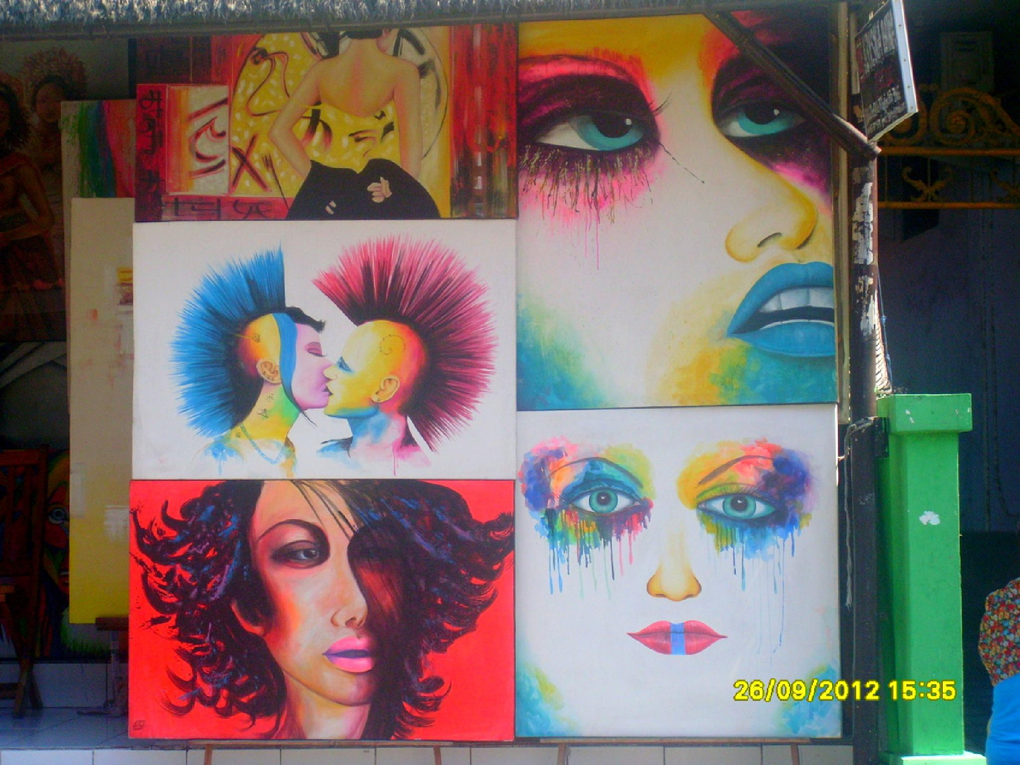 paintings in bali by dianne01
