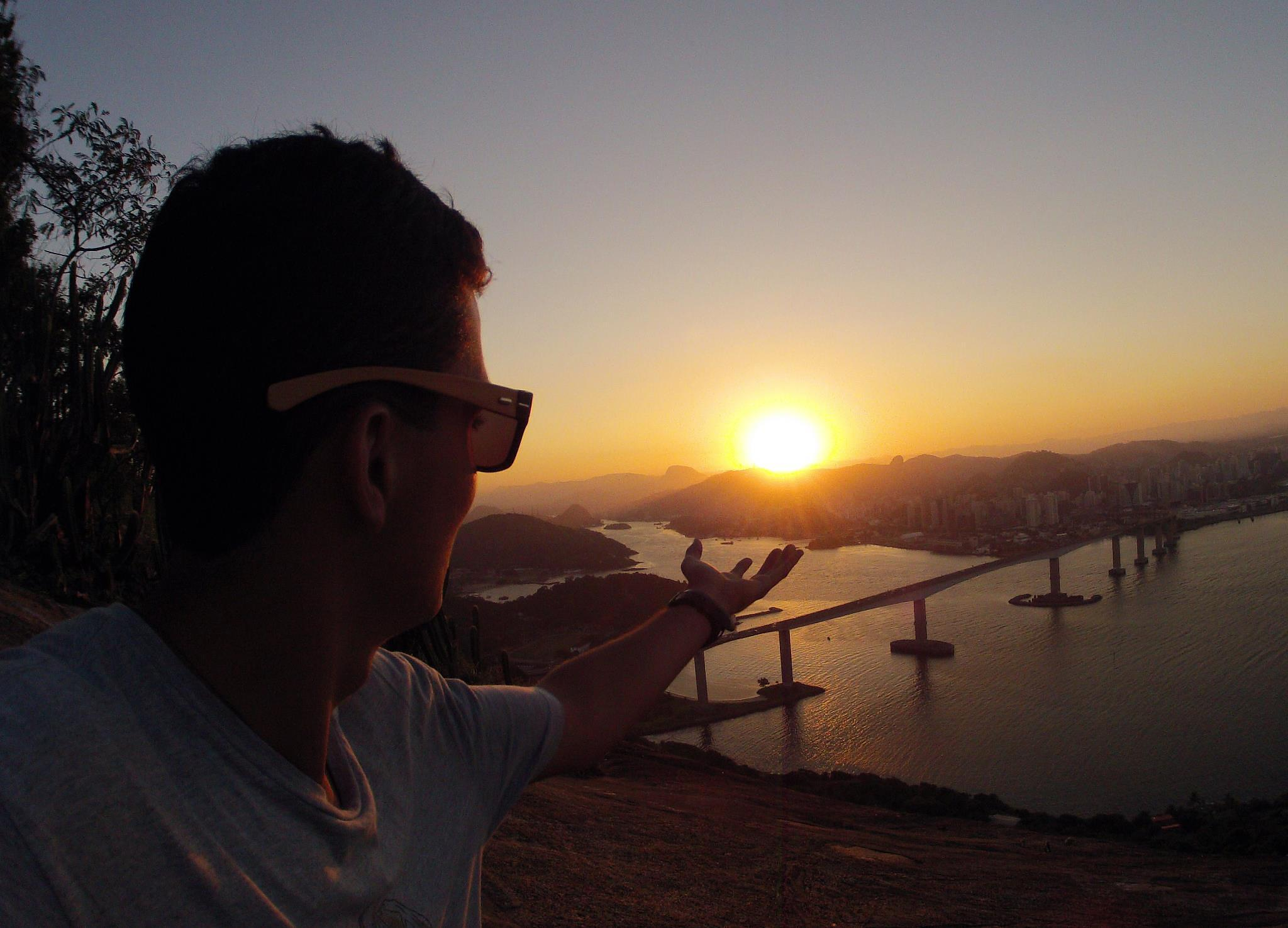 the sun in my hands by Lucas Silveira