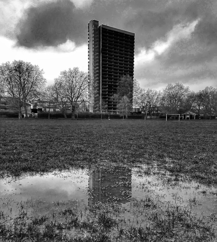 Soggy wicket by Jonathan Wood