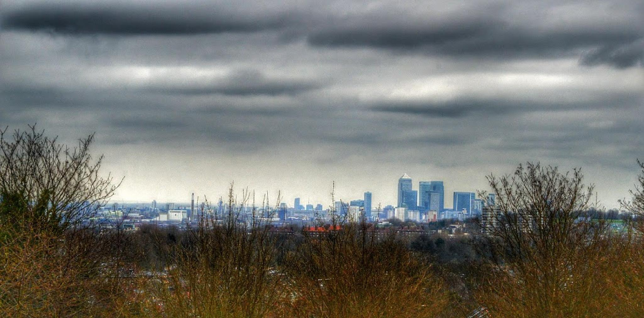 London from Overhill Road by Jonathan Wood