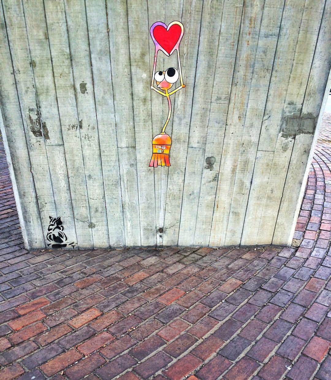 New Kent Road Love... by Jonathan Wood