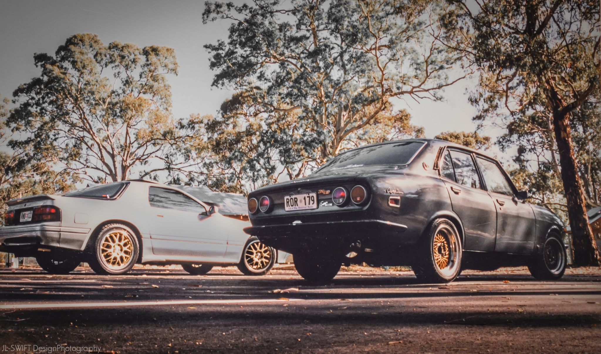 Moon-Riders - RX-7 & RX-2 002 by JLSWIFTdesign