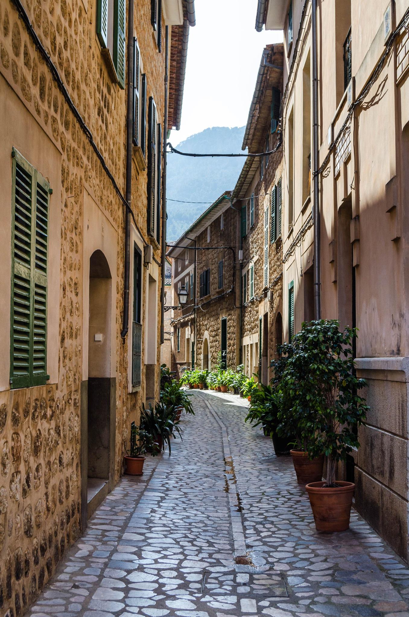 Soller street by Tavo