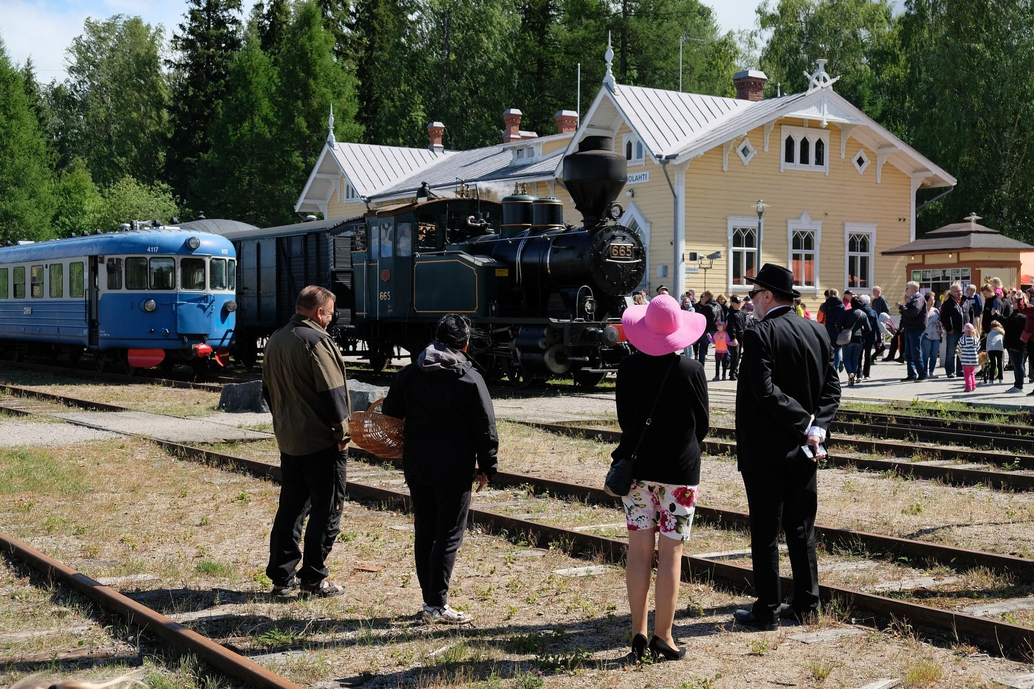Suolahden vanha asema. by Petri Mustonen