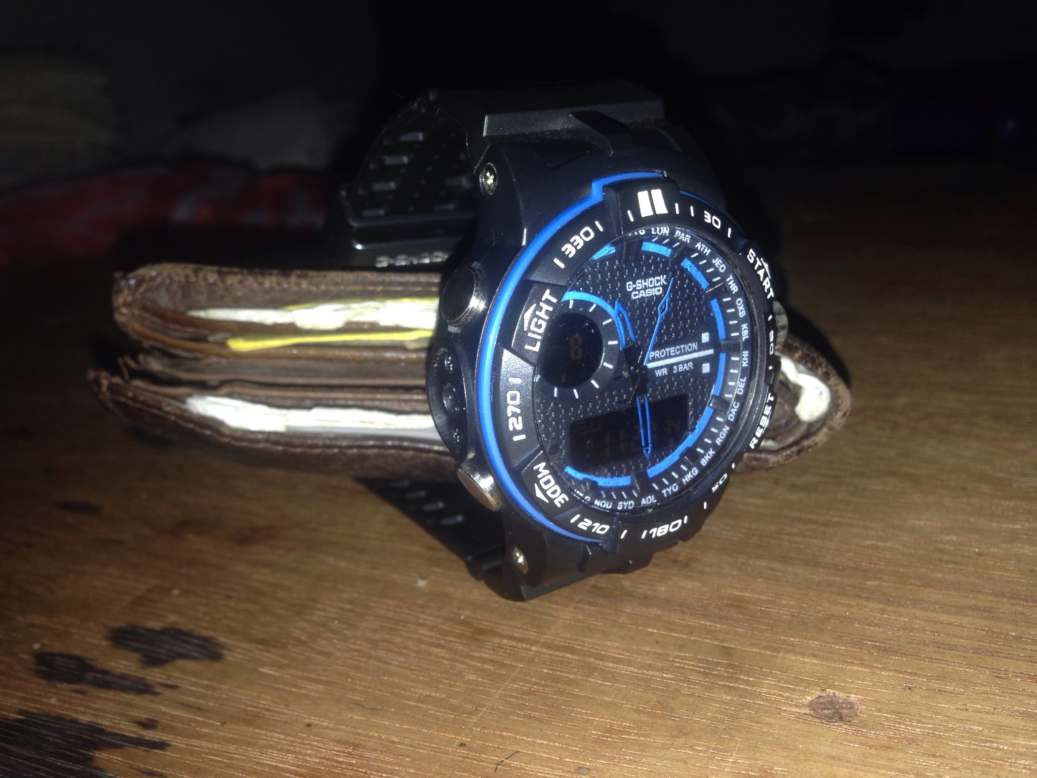 G shock watch by Mohamed Ajmeer