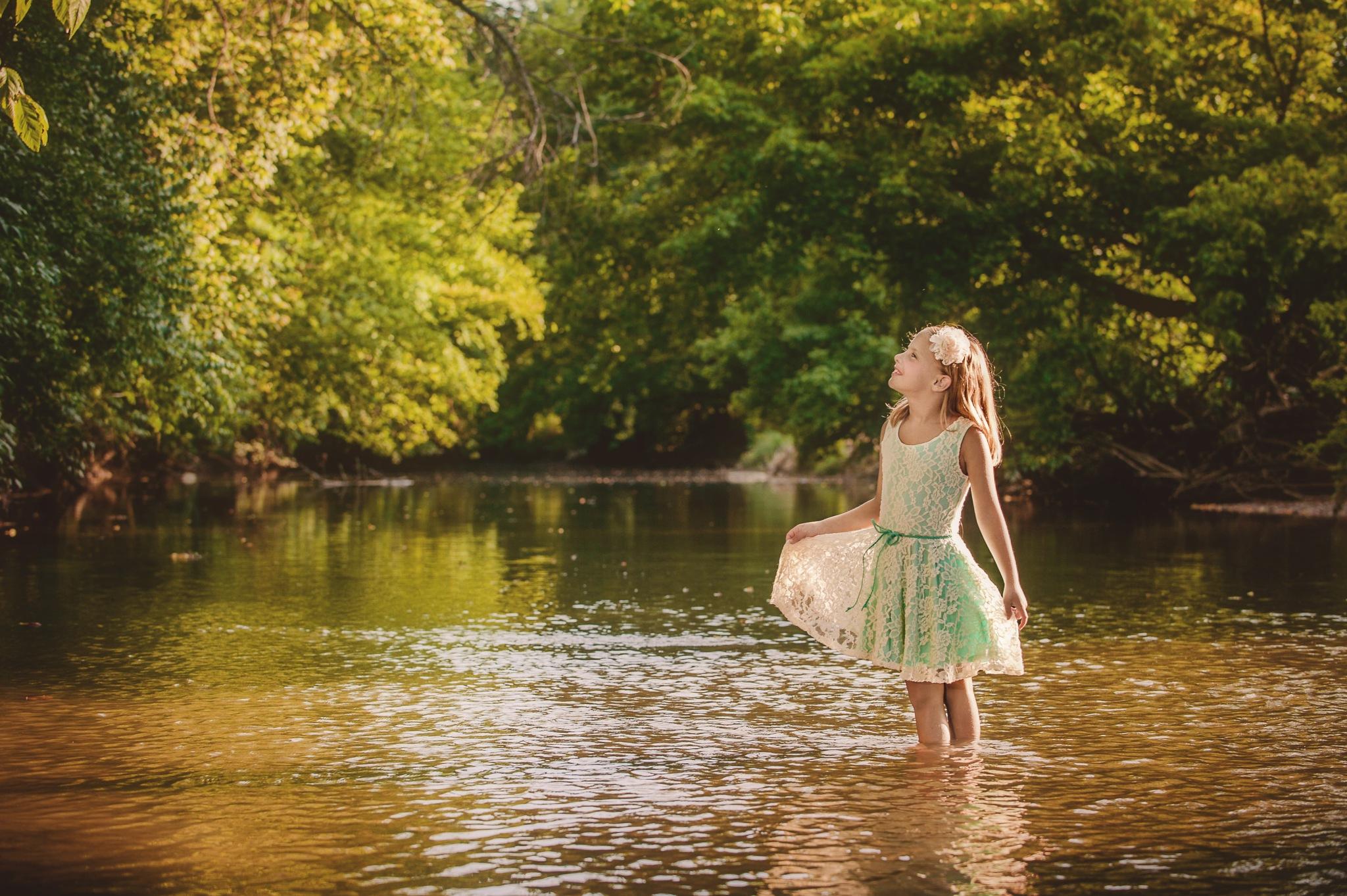 Wading by TerryLynn
