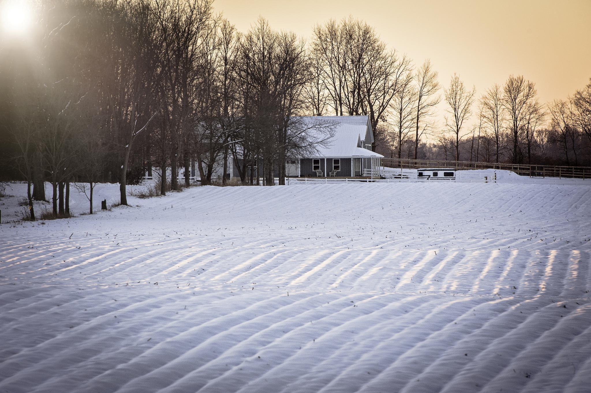 Winter Sunrise by TerryLynn