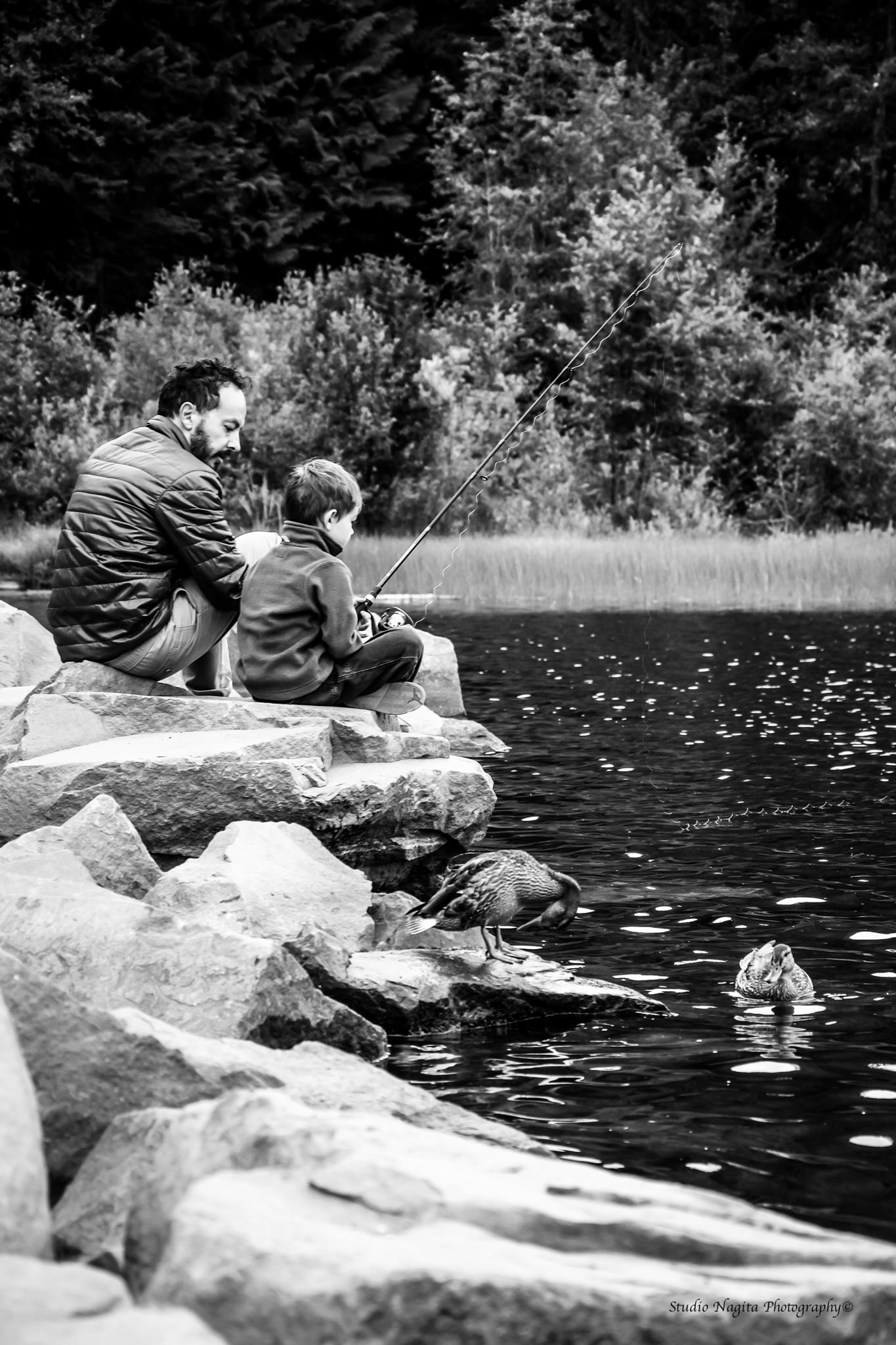 Father and Son moments by Natalie Van Schaik - Smit