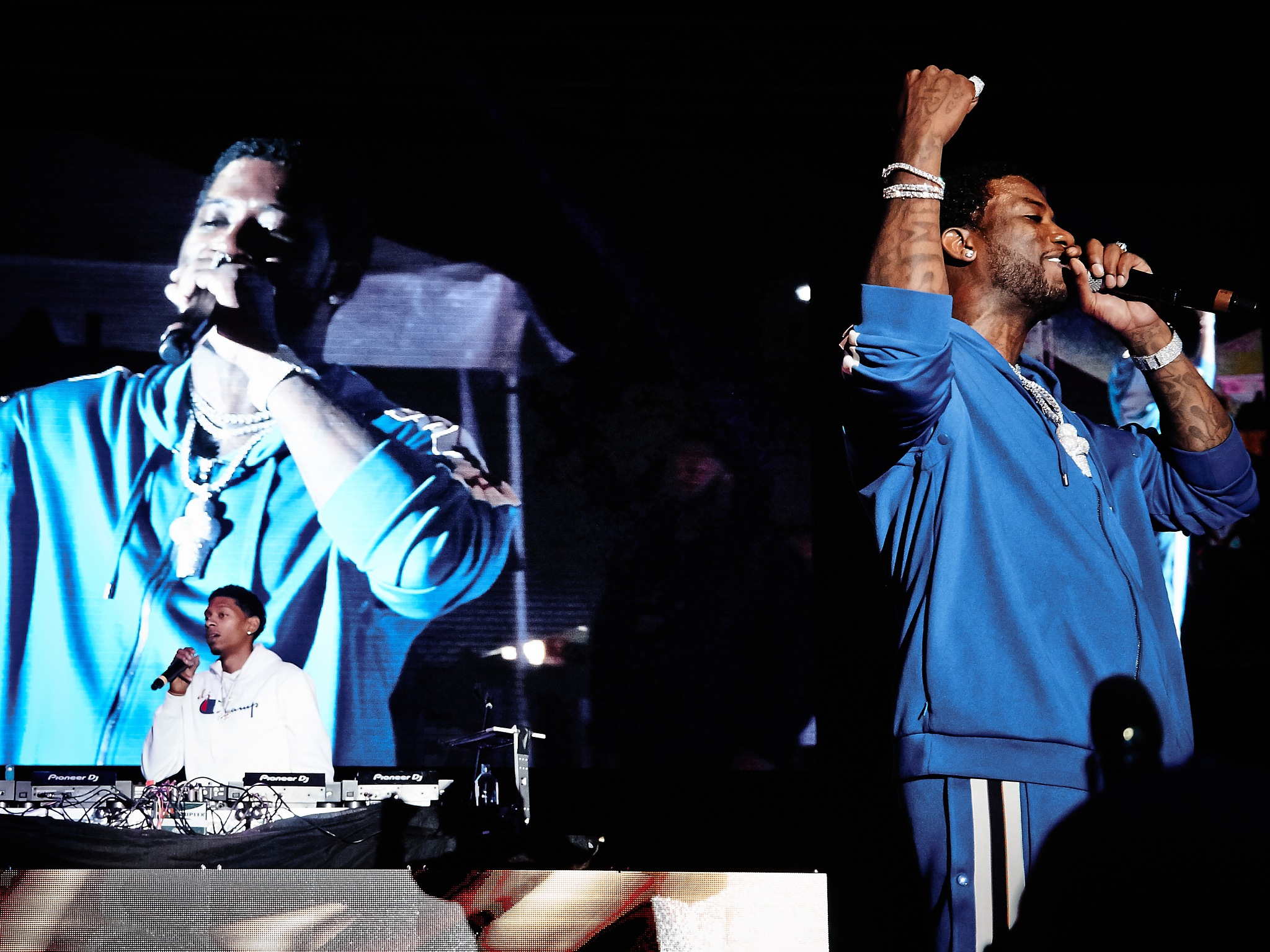 Gucci and DJ by Raul Sanchez