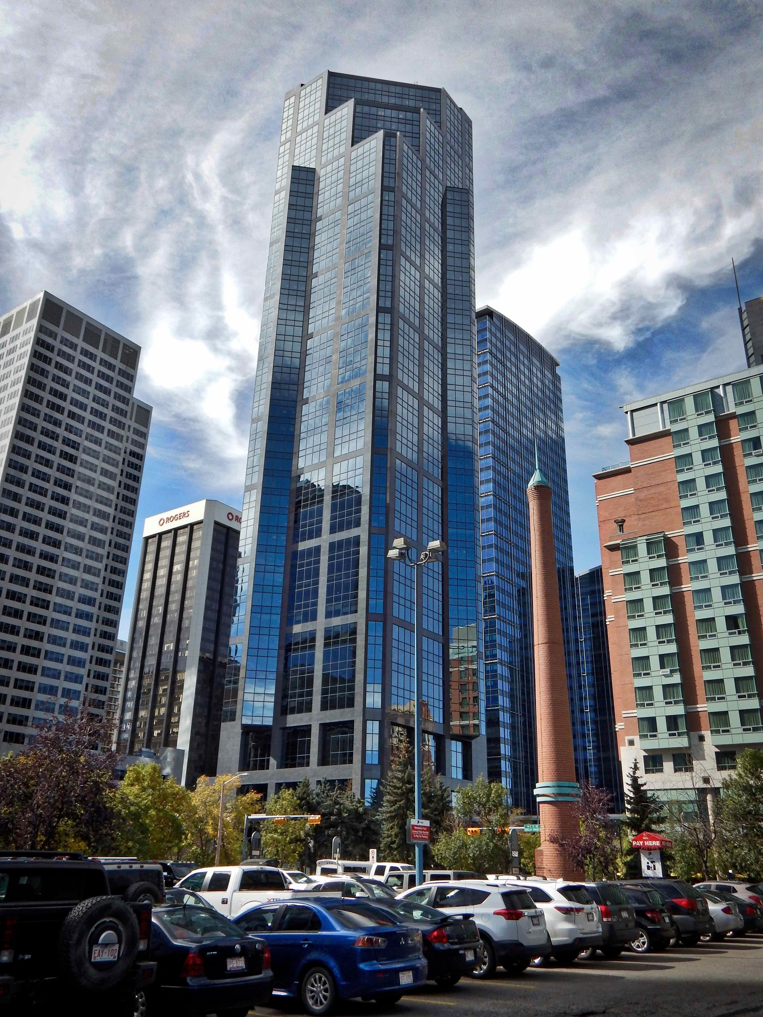 Downtown Calgary by Carbucketty