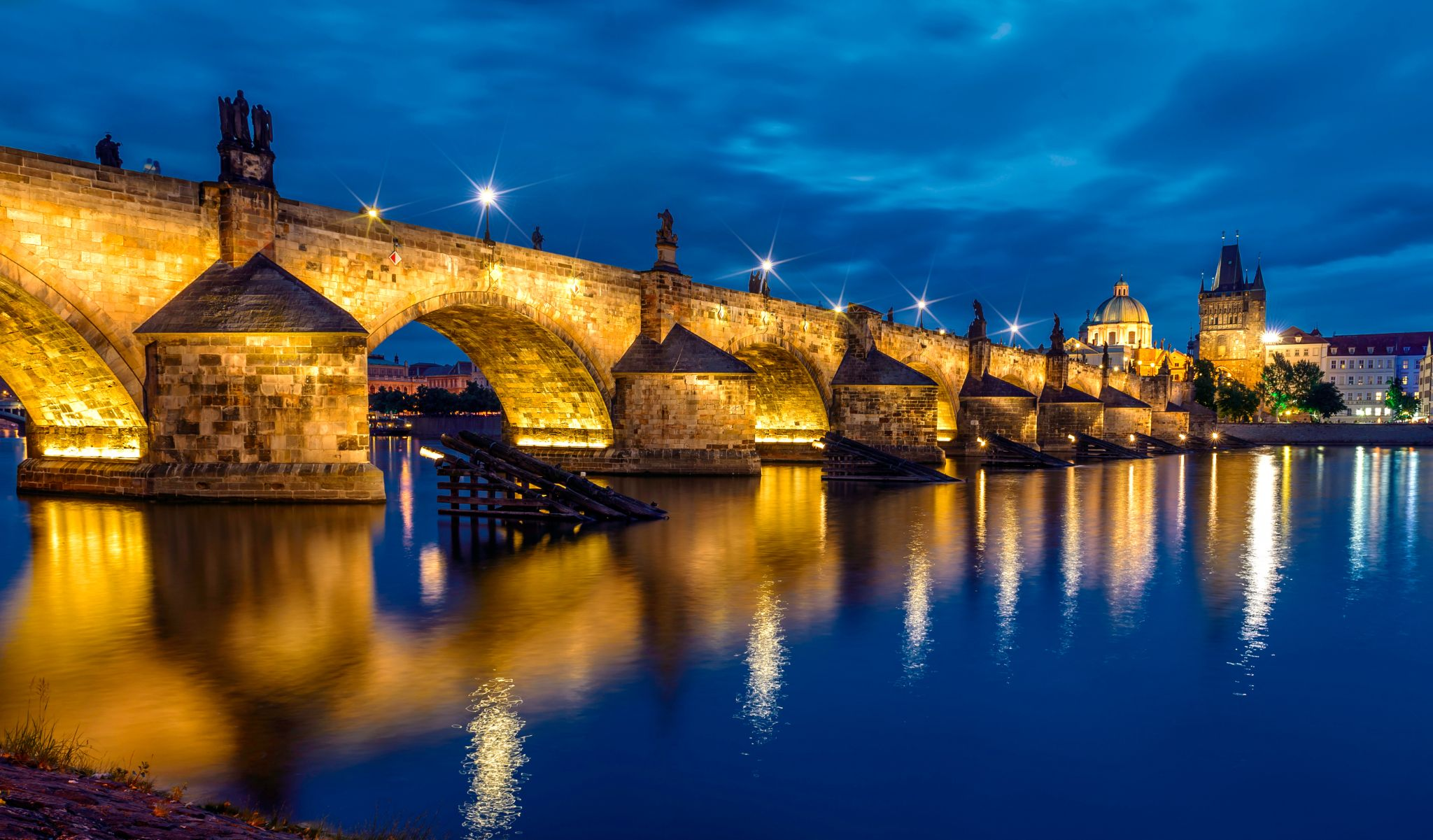 Charles Bridge, Prague by Nick M