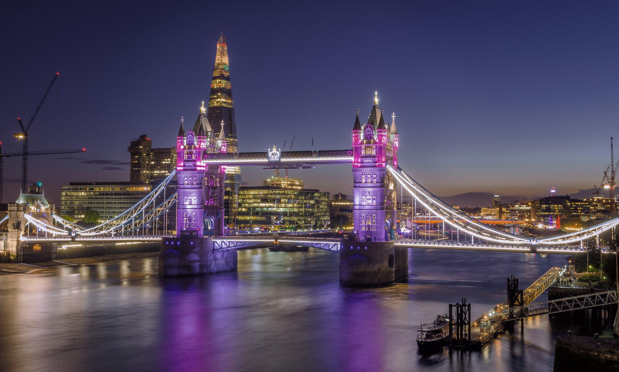 Tower Bridge, London by Nick Moulds