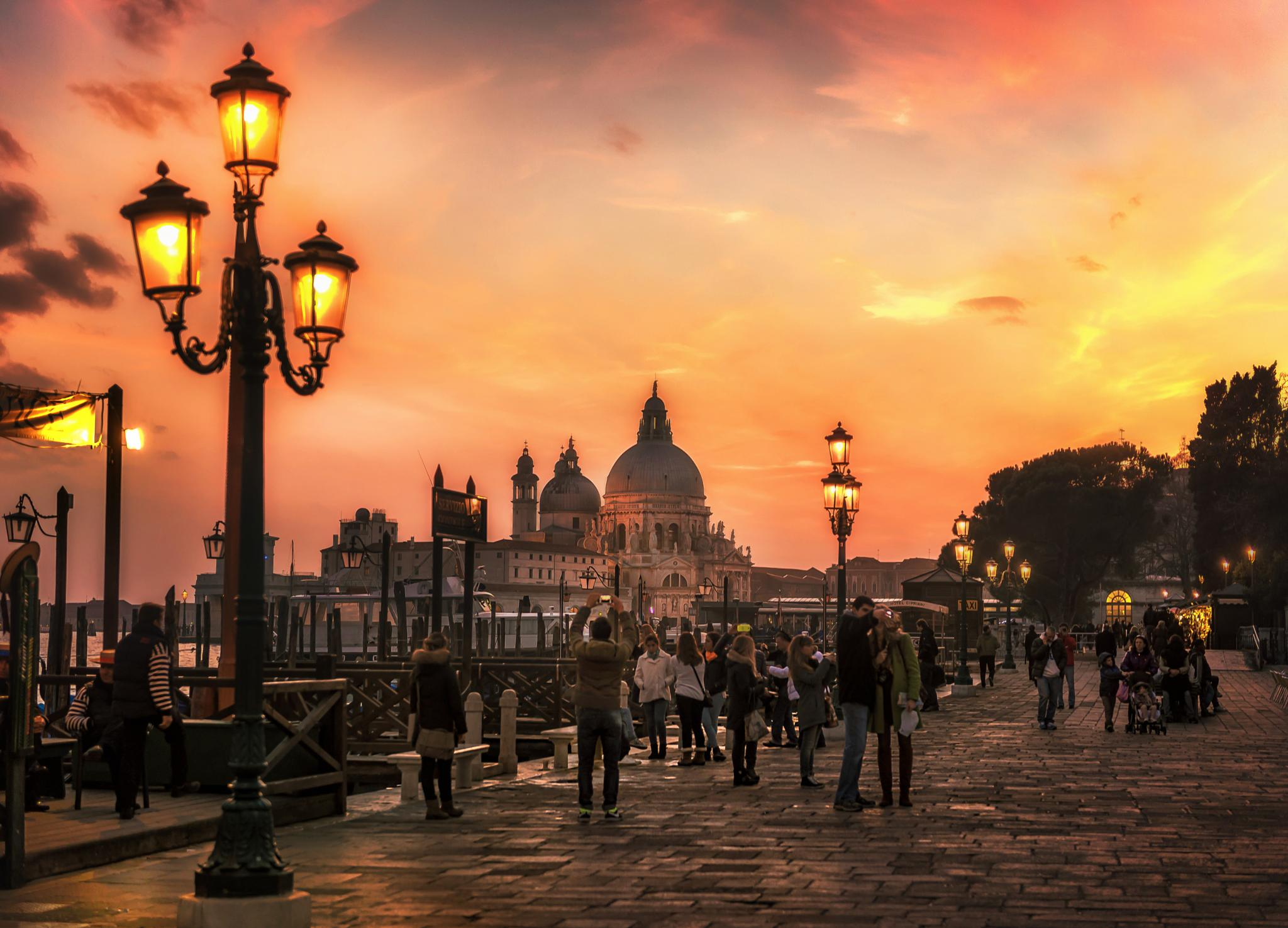Venice Sunset by Nick Moulds