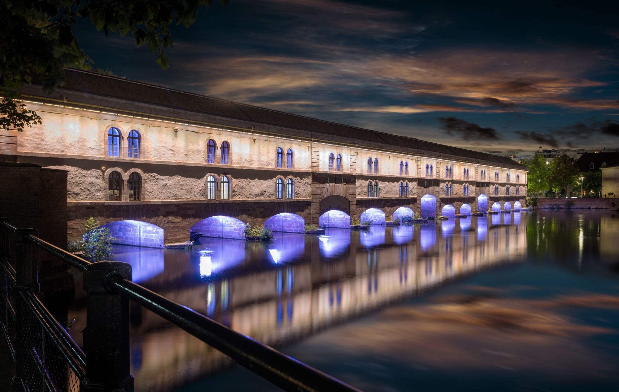 Covered Bridge, Strasbourg by Nick Moulds